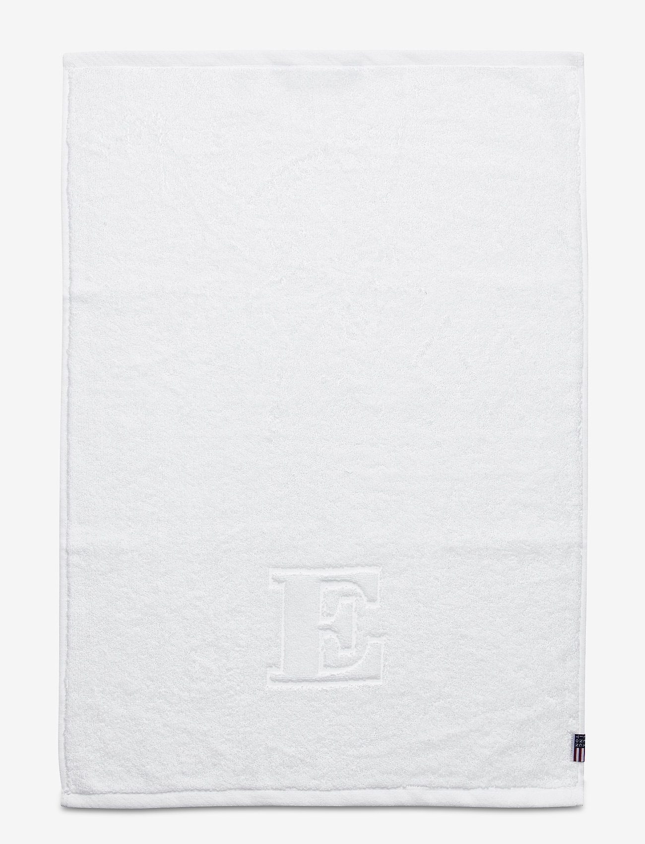 Lexington Home - Monogram Towel Letter E - ręczniki kąpielowe - white - 0