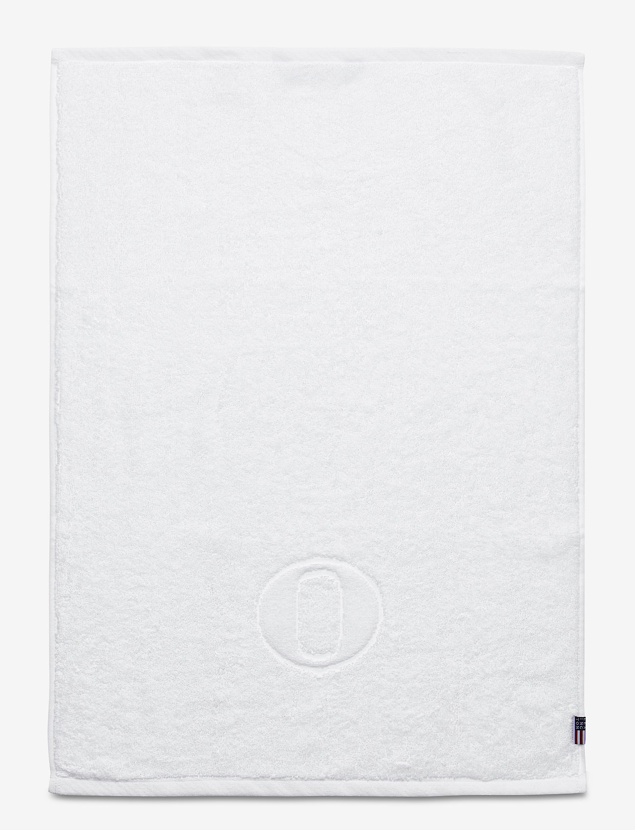 Lexington Home - Monogram Towel Letter O - ręczniki kąpielowe - white - 0
