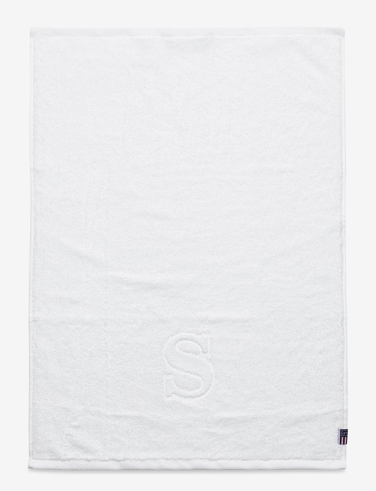 Lexington Home - Monogram Towel Letter S - towels - white - 0