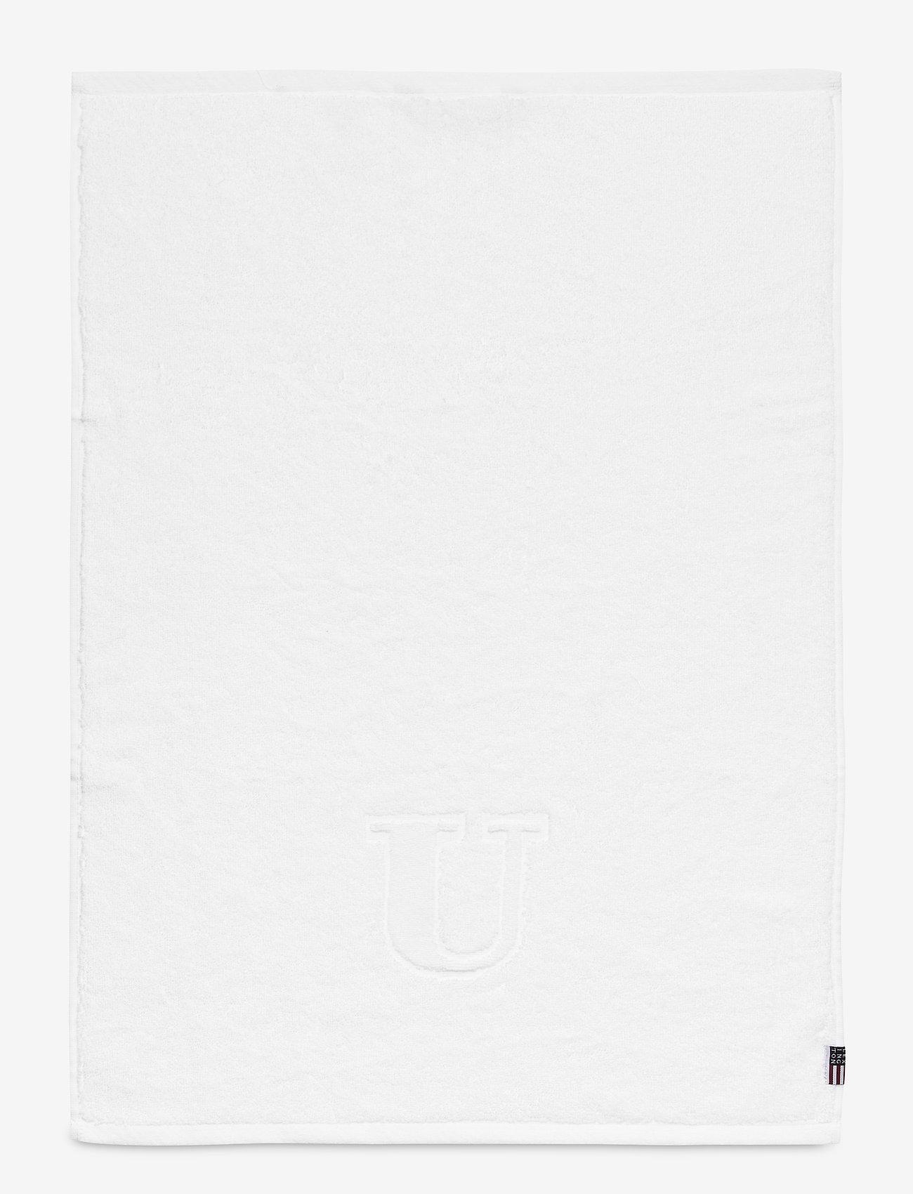Lexington Home - Monogram Towel Letter U - ręczniki kąpielowe - white - 0
