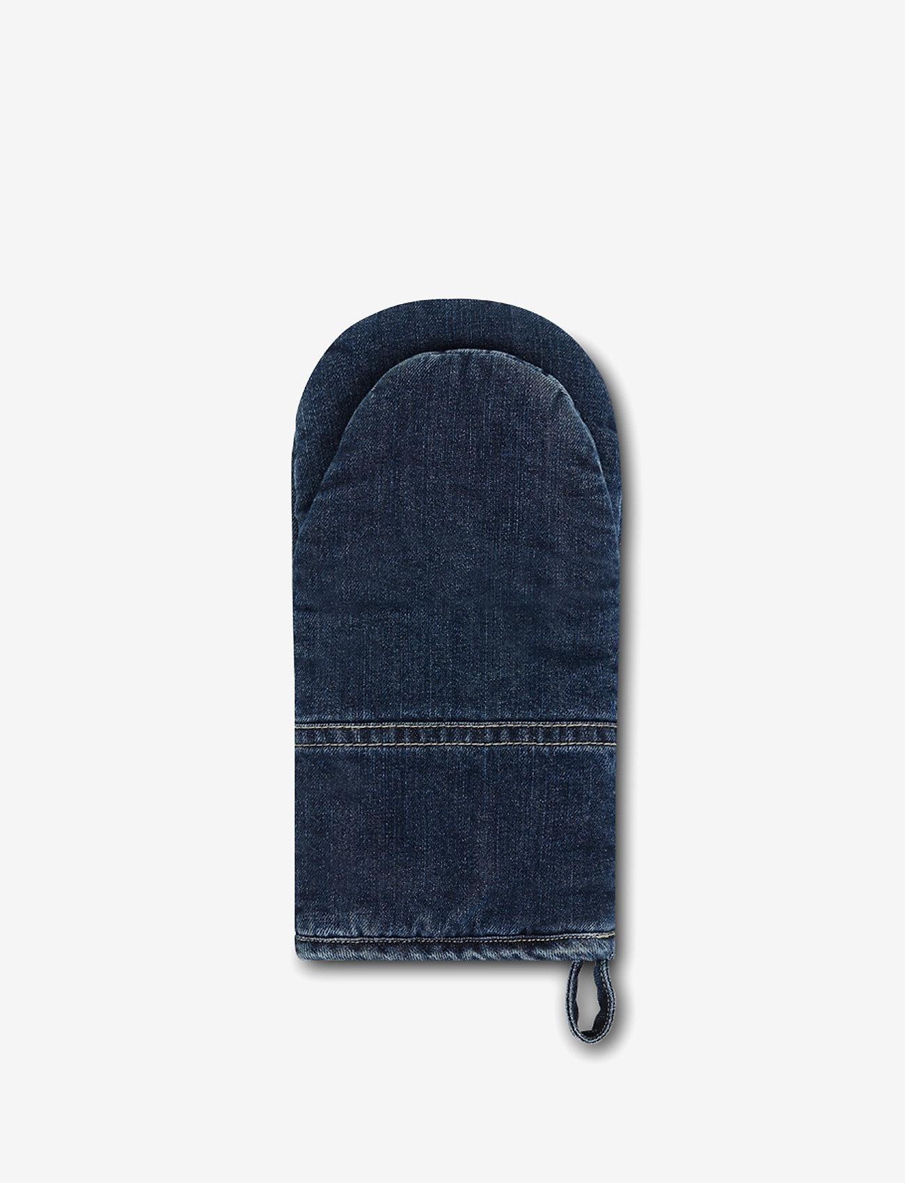 Lexington Home - Icons Cotton Twill Denim Mitten - pannulaput ja patakintaat - denim blue - 1