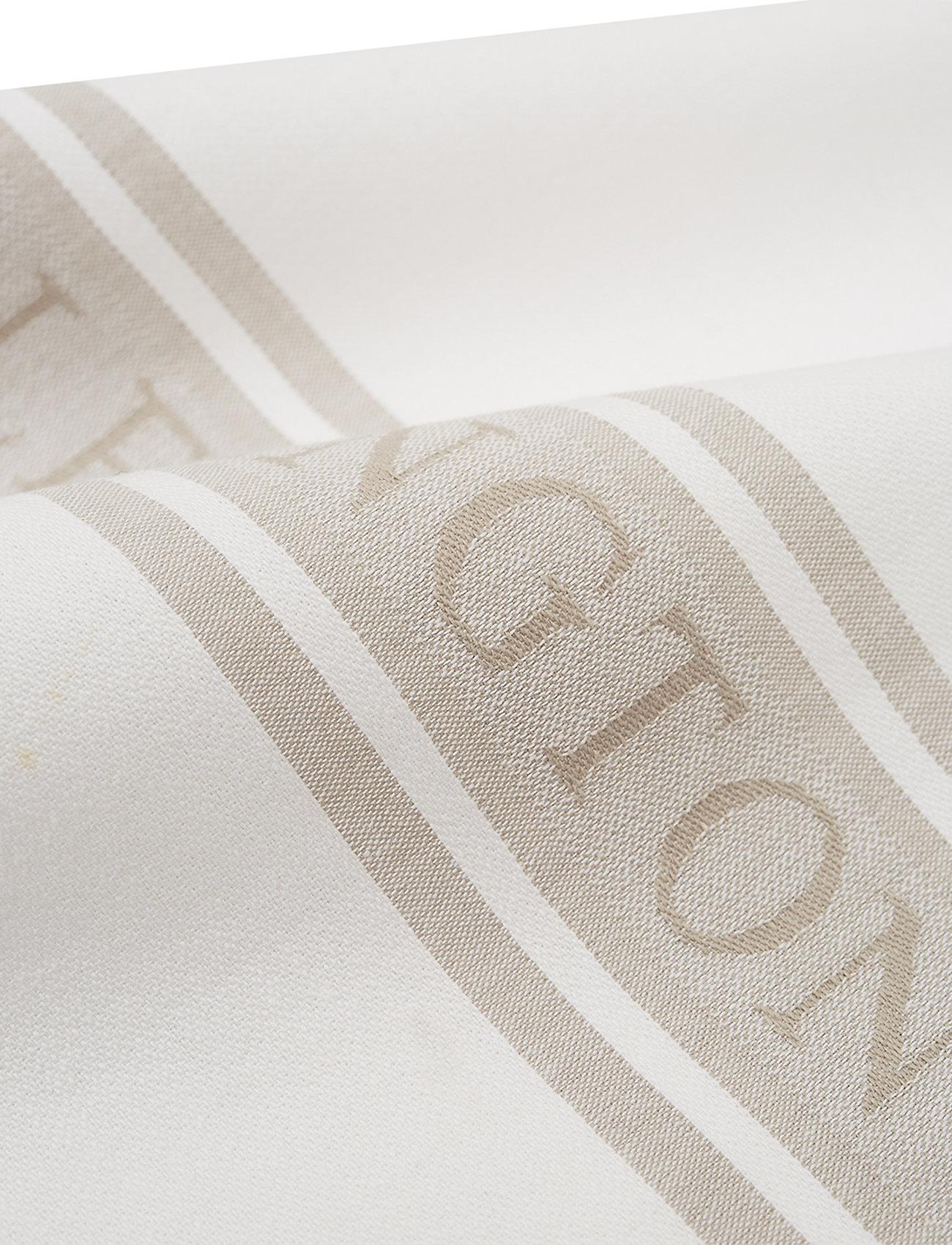 Lexington Home - Icons Cotton Jacquard Star Kitchen Towel - keittiöpyyhkeet - white/beige - 1