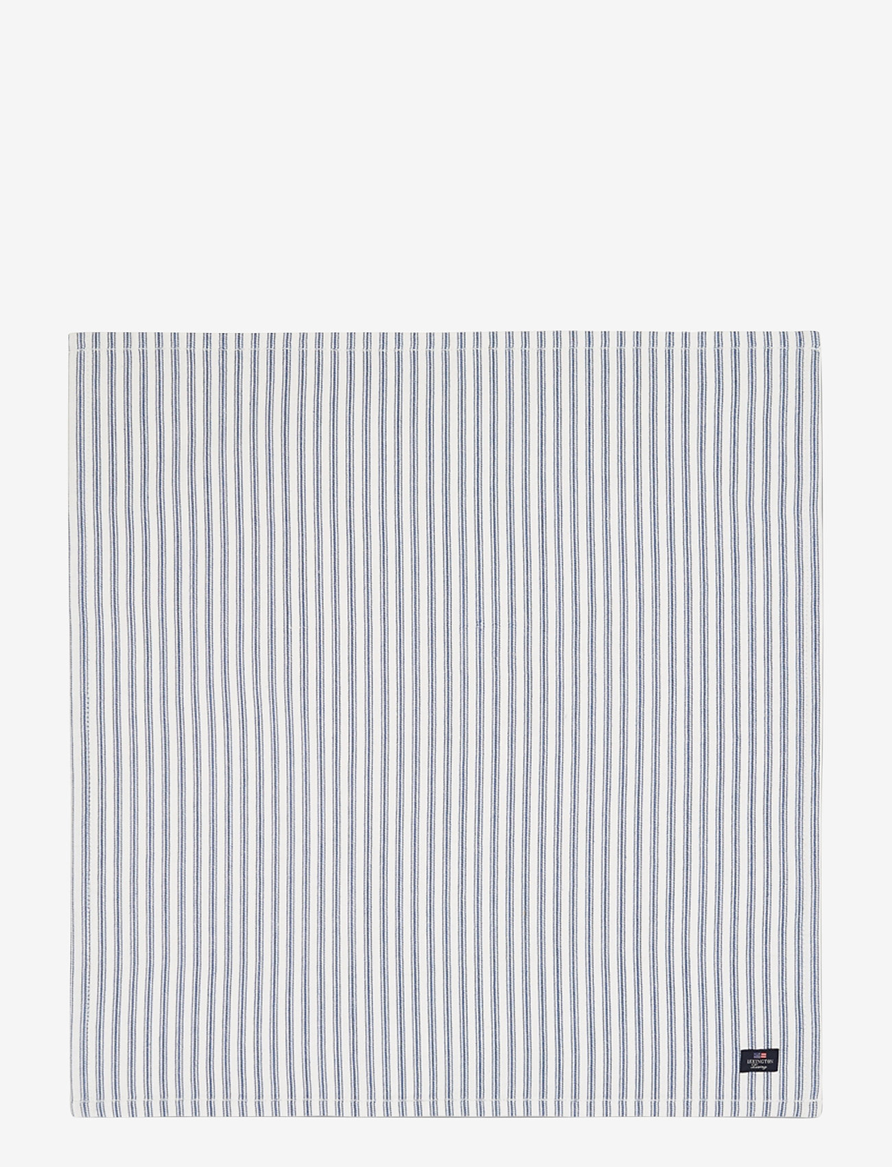 Lexington Home - Icons Cotton Herringbone Striped Napkin - pöytätabletit - blue/white - 0