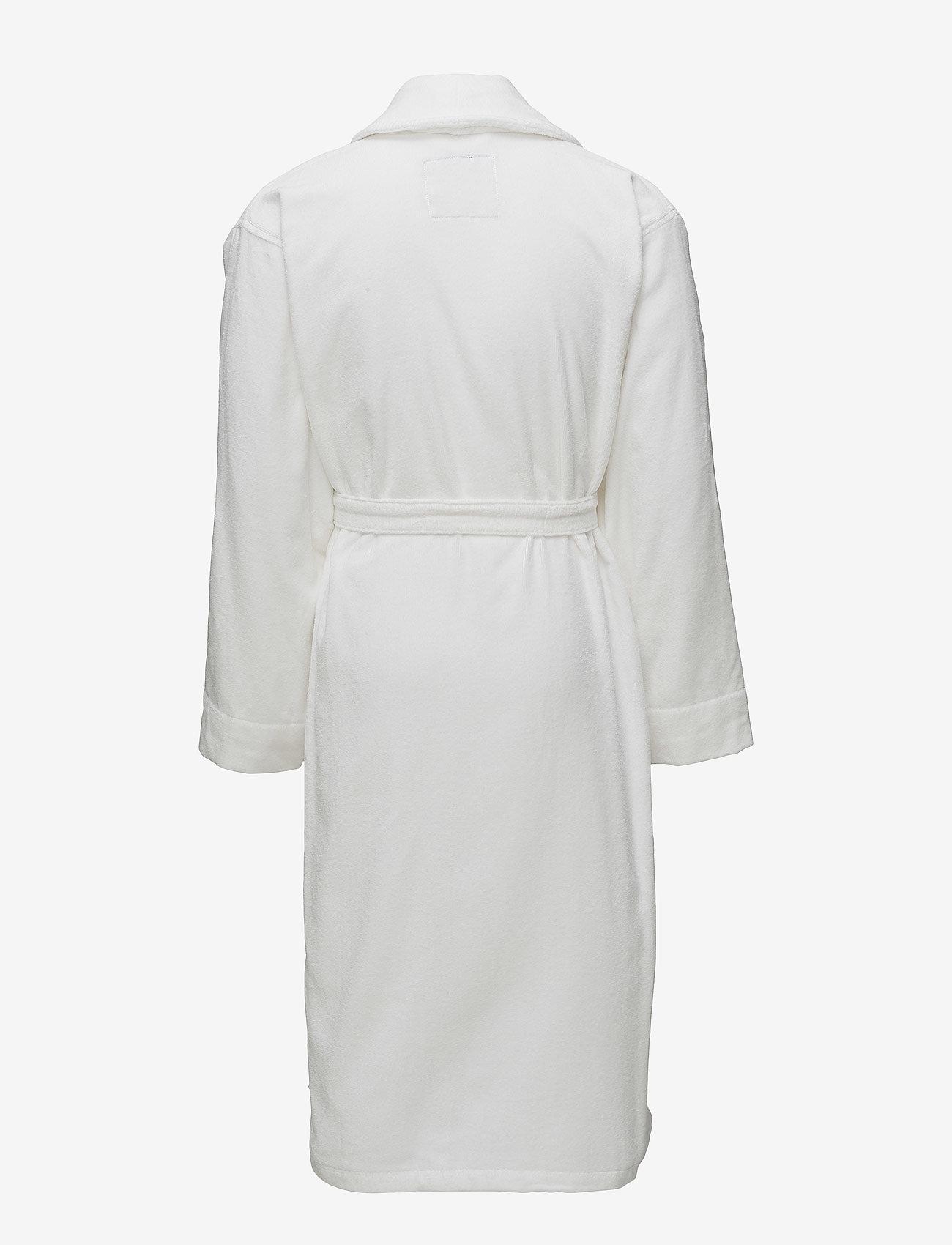 Lexington Home - Lexington Velour Robe - pegnoirs - white - 1