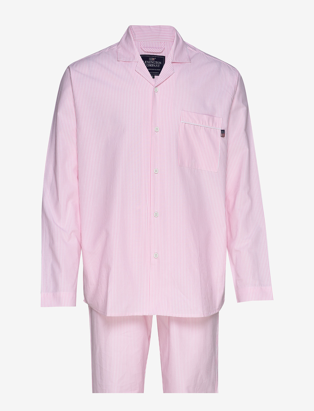 Lexington Home - Pajama Set organic - pyjamat - pink/white - 0