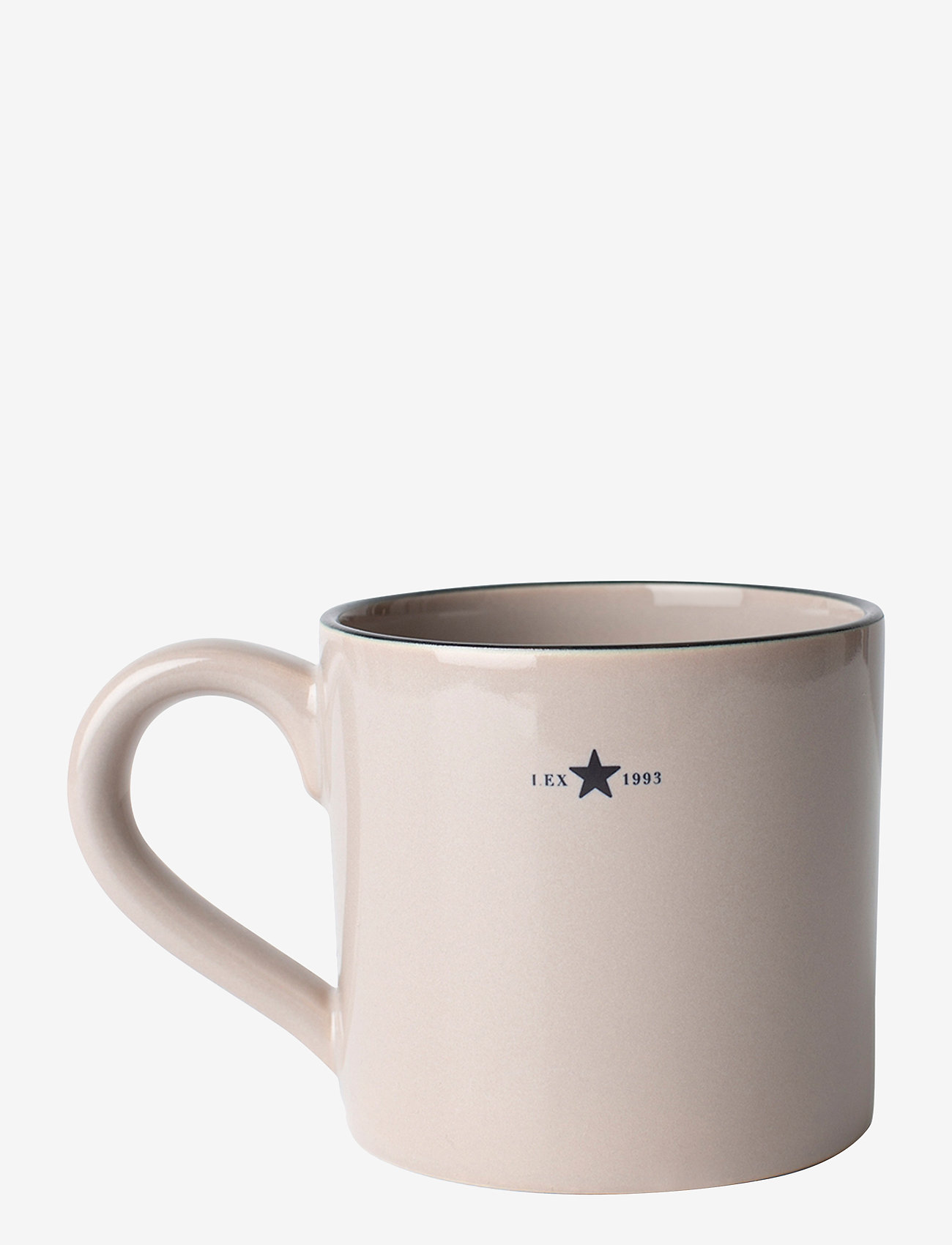 Lexington Home - Stoneware Mug - kahvikupit - beige/dk blue - 0