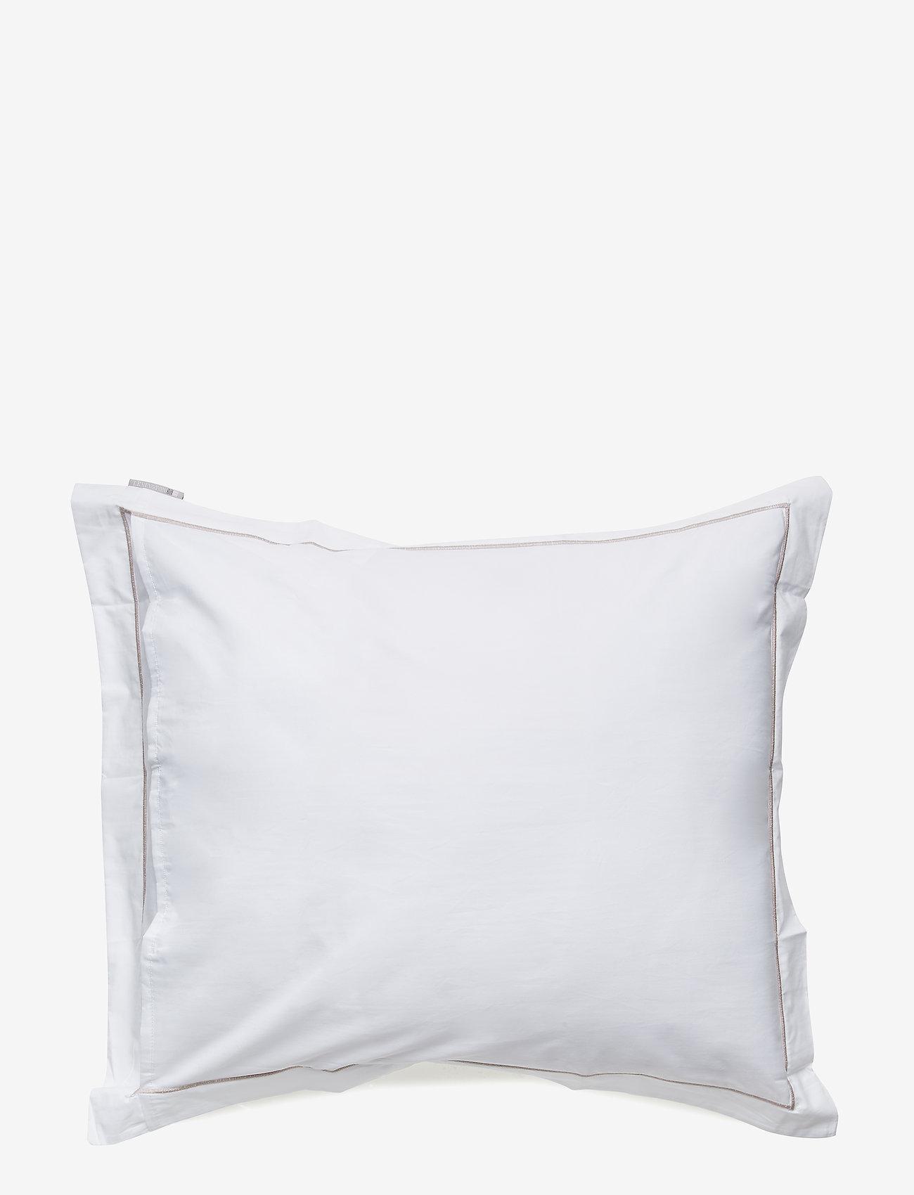 Lexington Home - Hotel Percale White/White Pillowcase - taies d'oreiller - white/white - 1