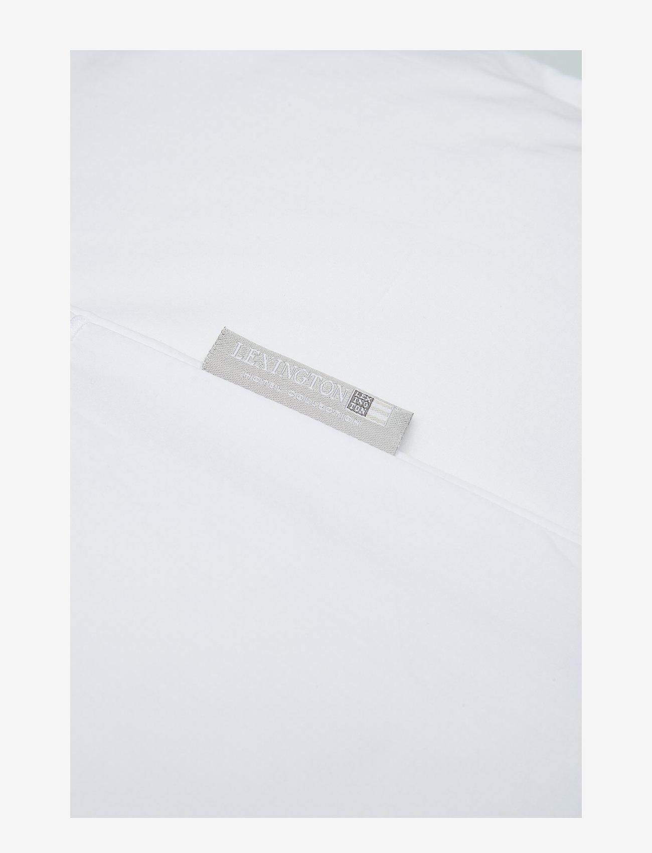 Lexington Home - Hotel Percale White/White Duvet - housses de couette - white/white - 1