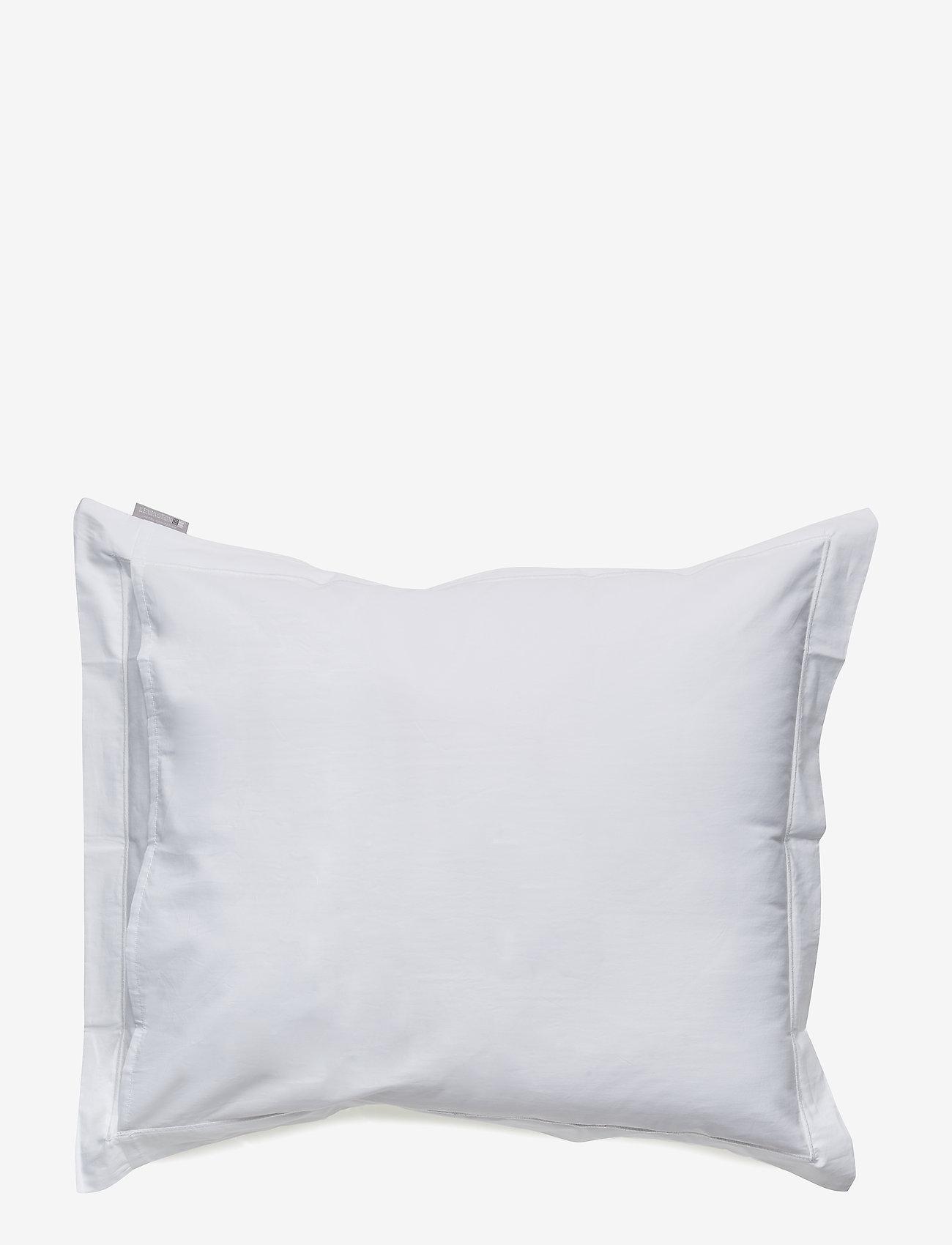 Lexington Home - Hotel Percale White/Lt Beige Pillowcase - taies d'oreiller - white/lt beige - 1