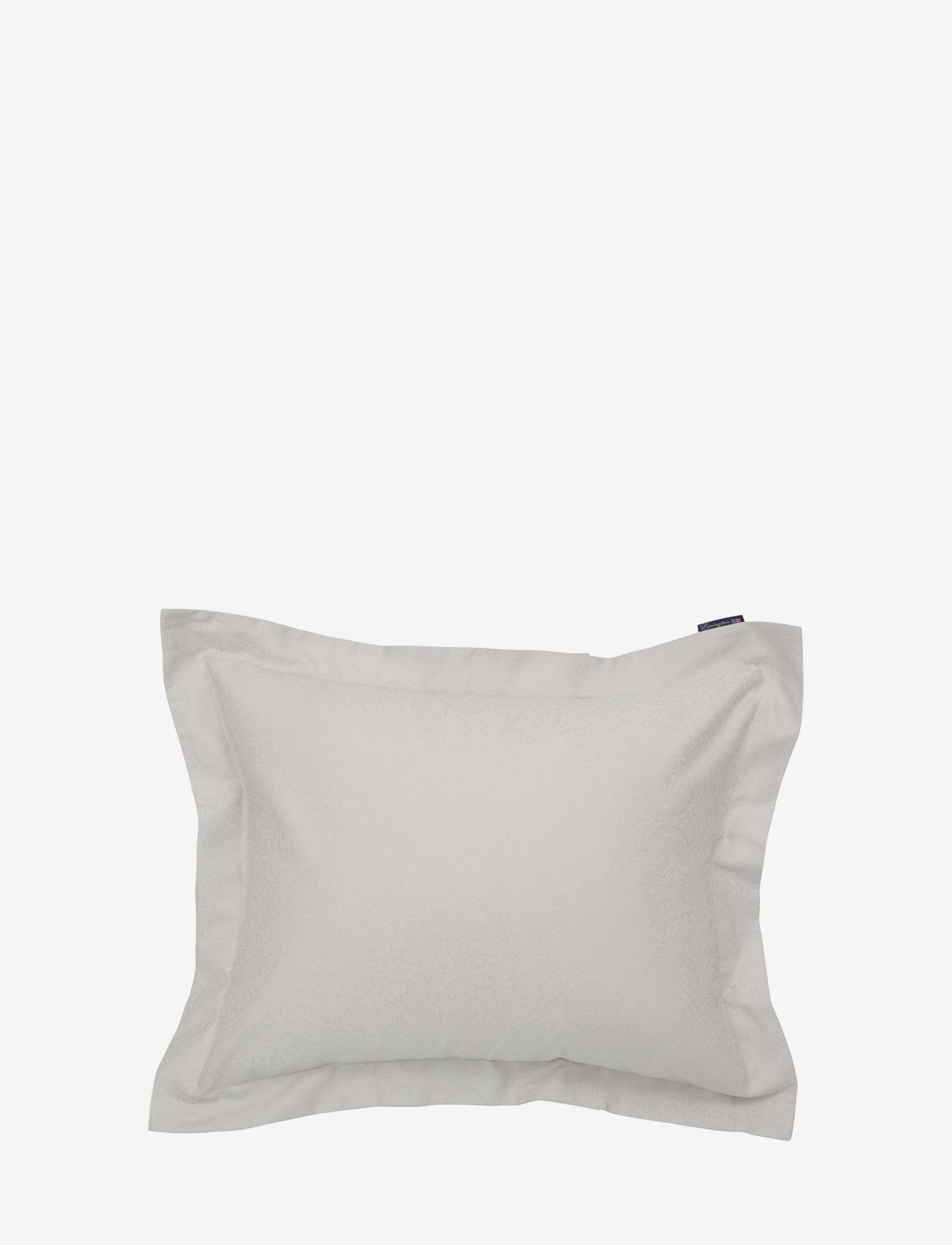 Lexington Home - Hotel Sateen Jacquard Lt Beige Pillowcase - taies d'oreiller - lt beige - 0