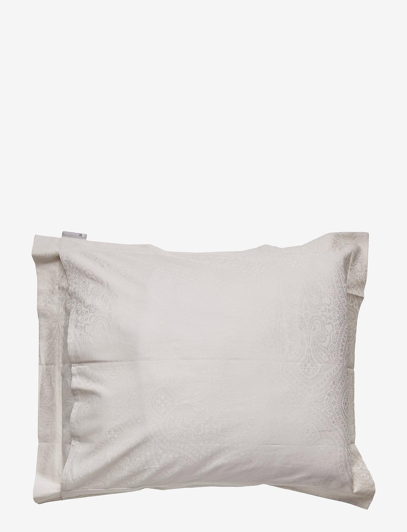 Lexington Home - Hotel Sateen Jacquard Lt Beige Pillowcase - taies d'oreiller - lt beige - 1