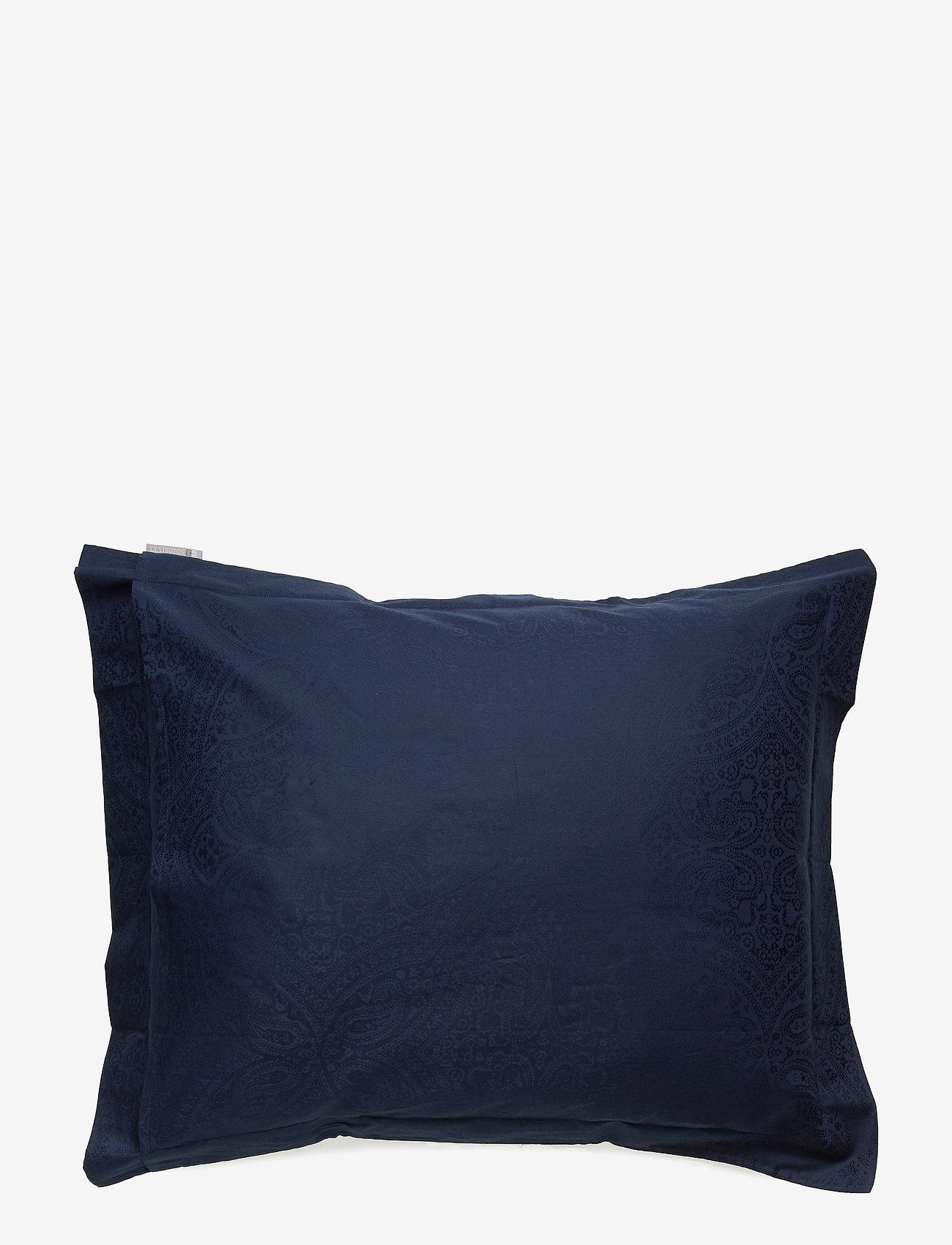 Lexington Home - Hotel Sateen Jacquard Blue Pillowcase - taies d'oreiller - blue - 1