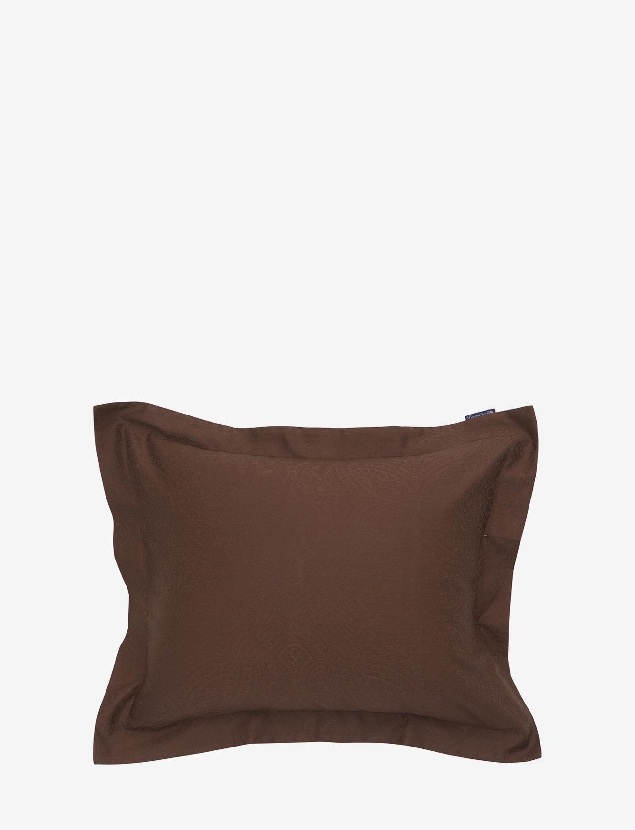 Lexington Home - Hotel Sateen Jacquard Chestnut Pillowcase - tyynyliinat - chestnut - 0