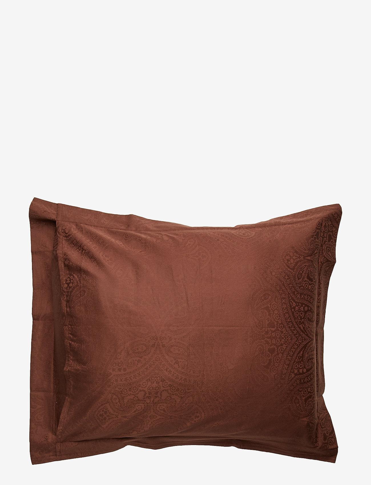 Lexington Home - Hotel Sateen Jacquard Chestnut Pillowcase - tyynyliinat - chestnut - 1