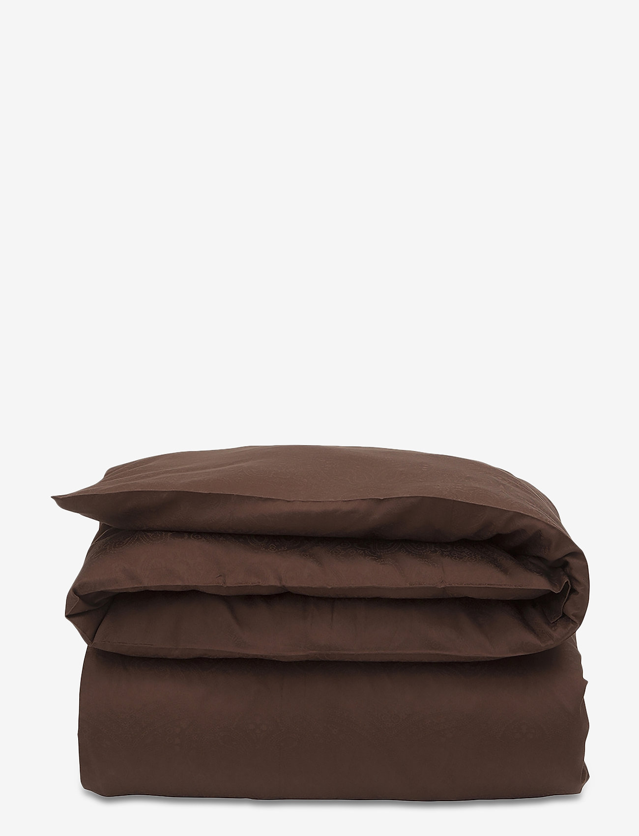 Lexington Home - Hotel Sateen Jacquard Chestnut Duvet - bedding sets - chestnut - 0