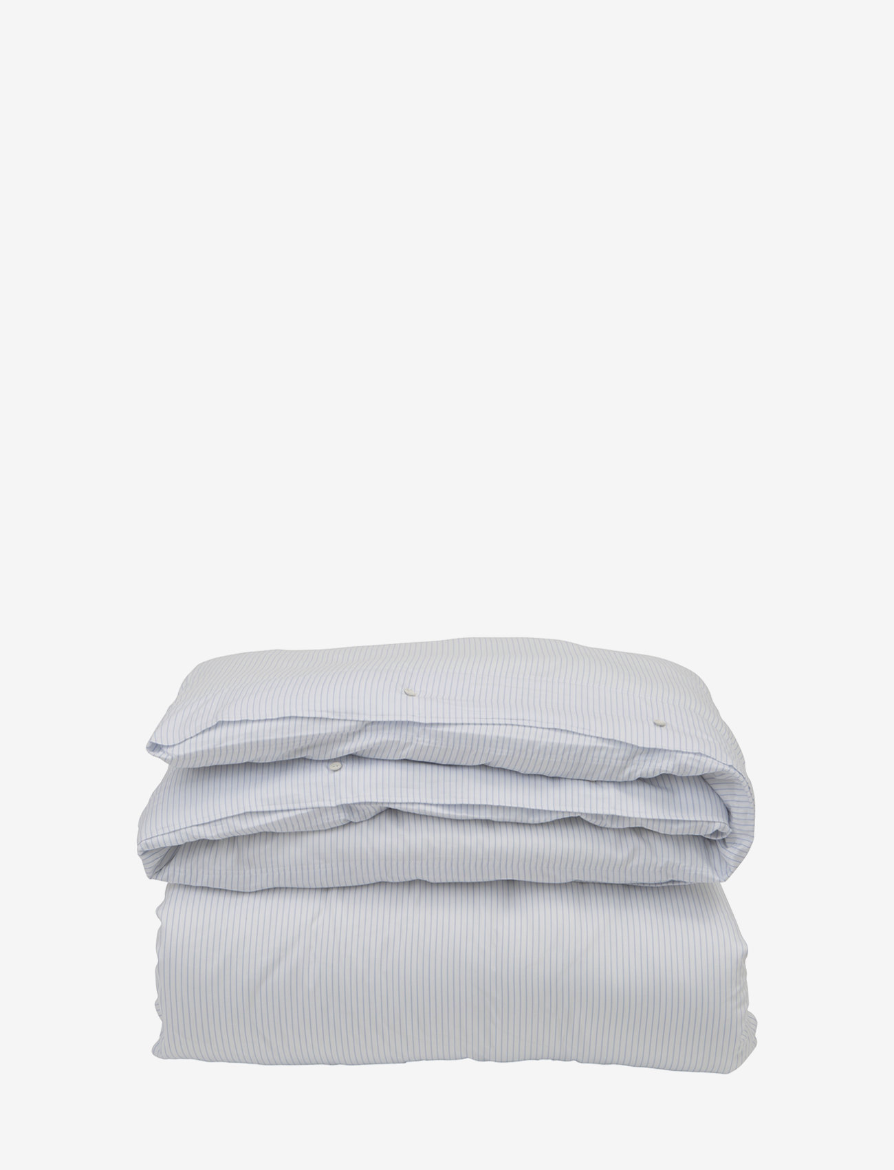 Lexington Home - Hotel Lyocell Stripe White/Blue Duvet - housses de couette - white/blue - 0