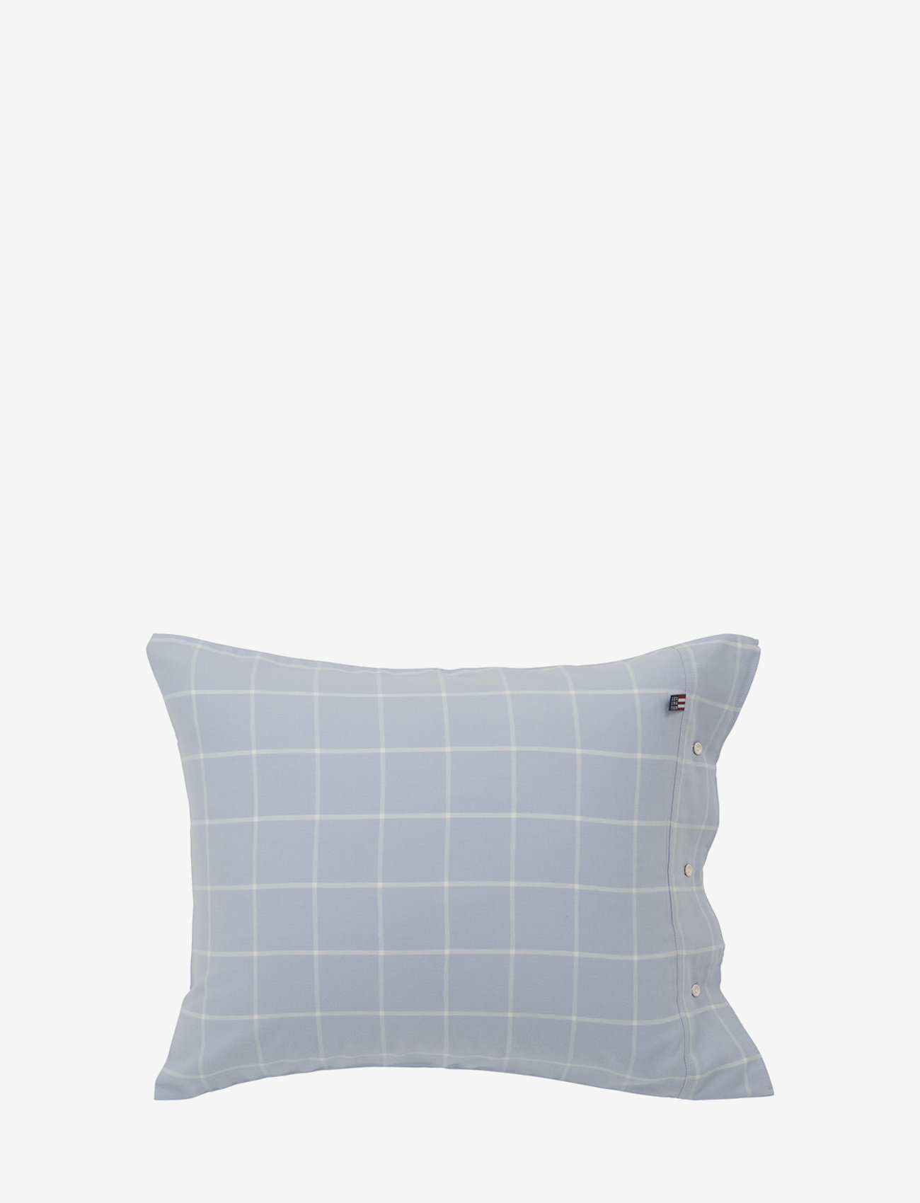 Lexington Home - Hotel Light Flannel Lt Blue/White Pillowcase - taies d'oreiller - lt blue/white - 0