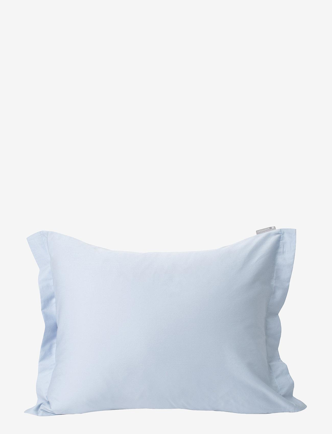 Lexington Home - Hotel Cotton Sateen Sky Blue Pillowcase - taies d'oreiller - sky blue - 0