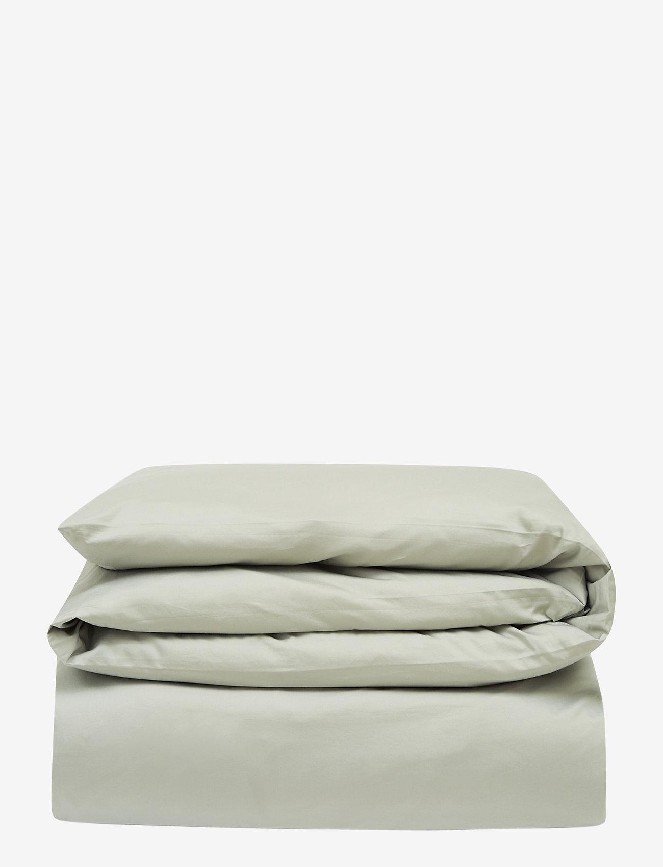 Lexington Home - Hotel Cotton Sateen Sage Green Duvet Cover - housses de couette - sage green - 0