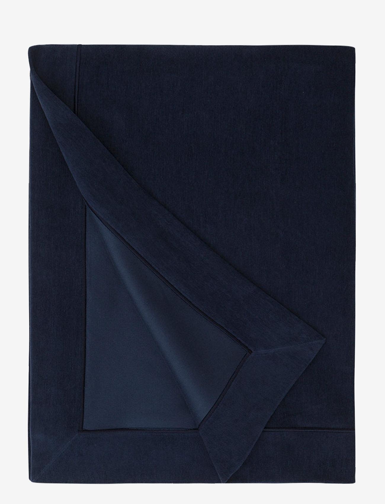 Lexington Home - Hotel Velvet Bedspread - päiväpeitto - dk. blue - 0