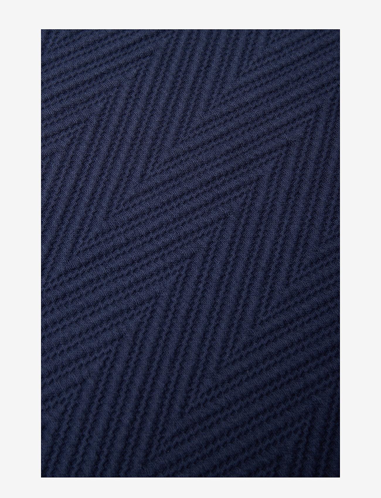 Lexington Home - Hotel Herringbone Bedspread - sprei - dk. blue - 1