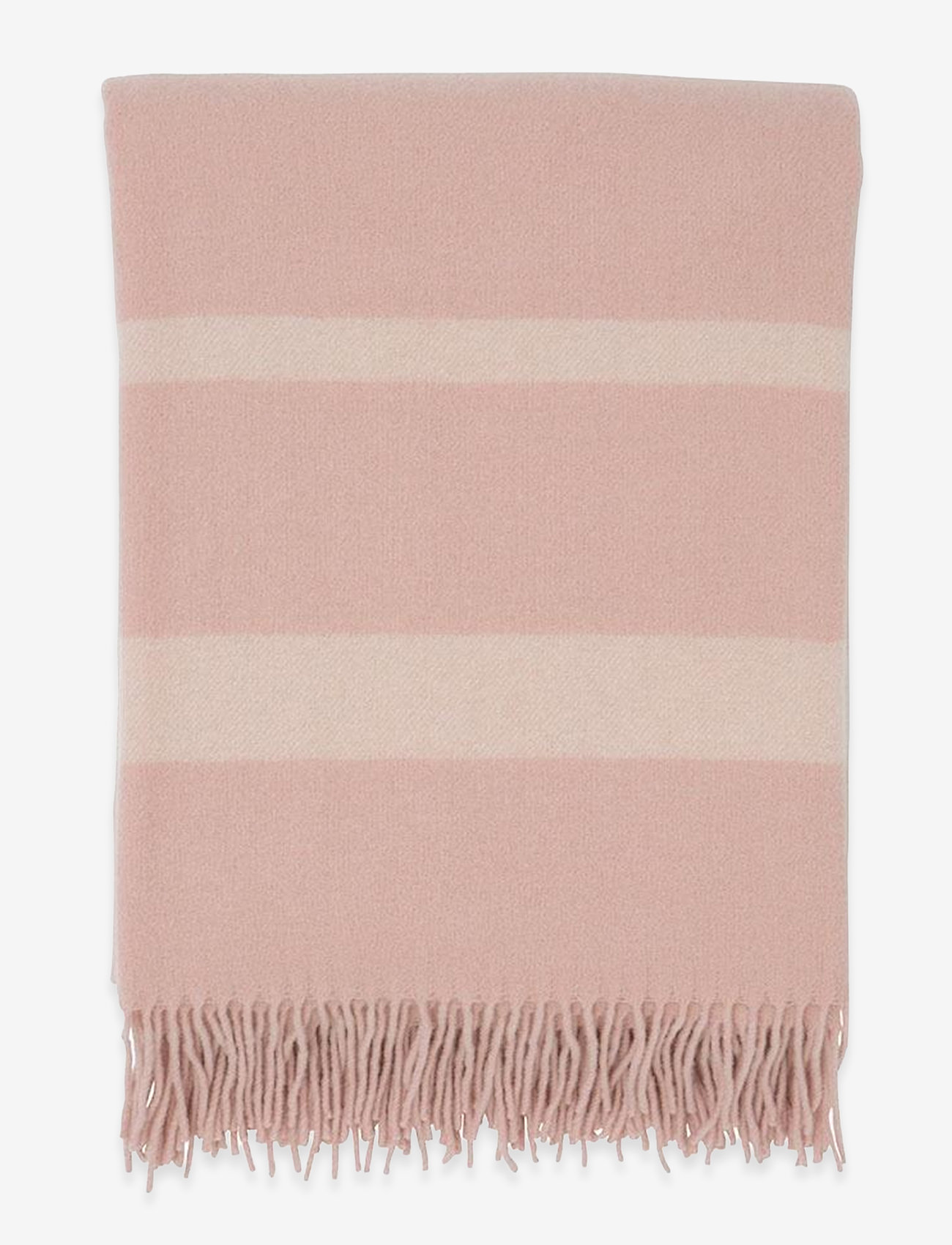 Lexington Home - Hotel Wool Throw - viltit - pink/white - 0