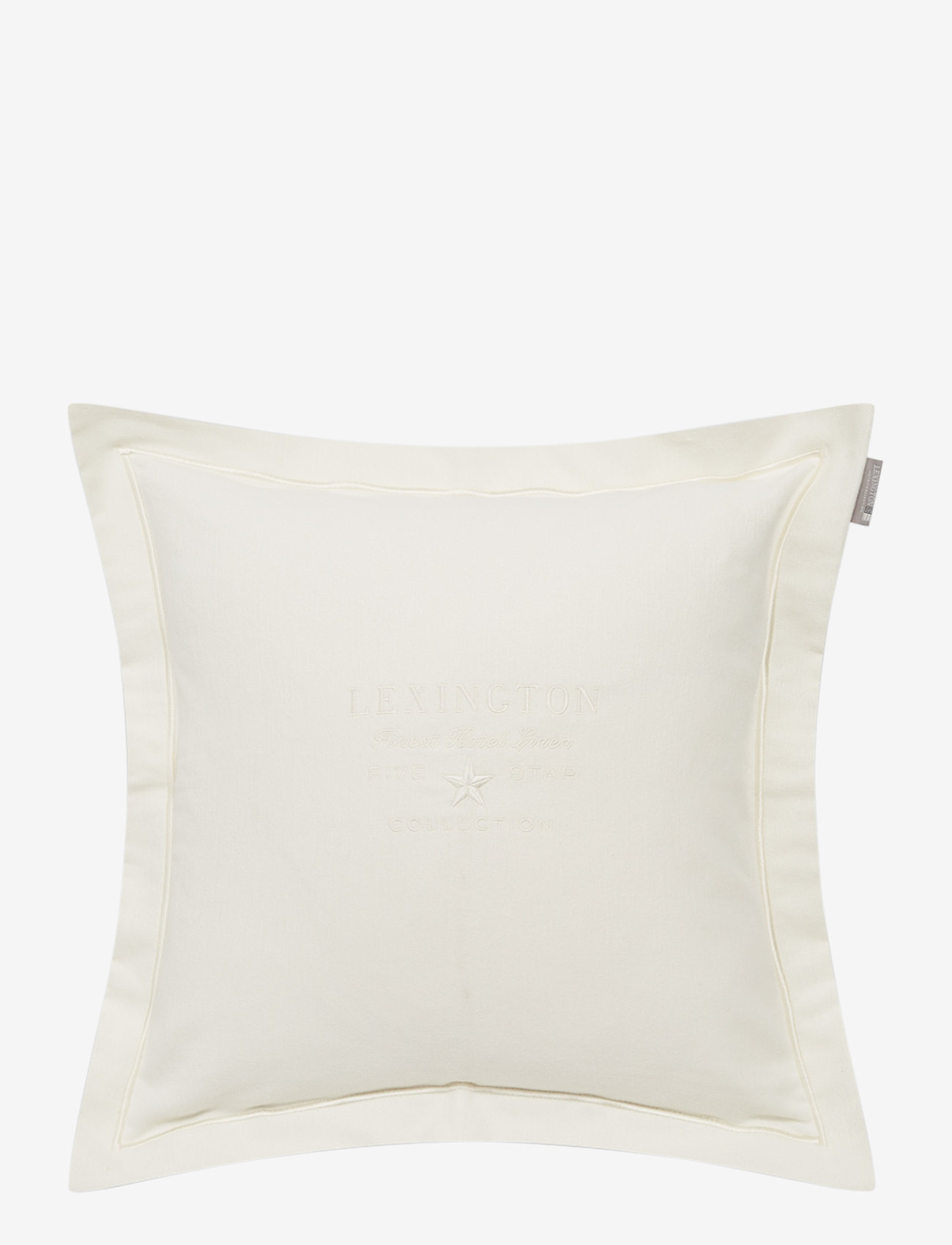 Lexington Home - Hotel Velvet Sham with Embroidery - tyynyliinat - off white - 0
