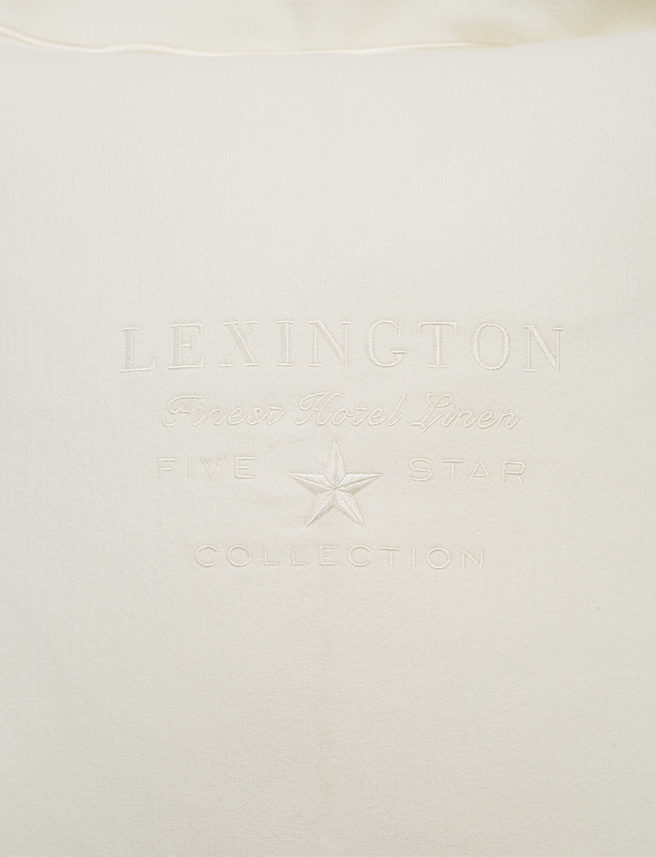 Lexington Home - Hotel Velvet Sham with Embroidery - tyynyliinat - off white - 1