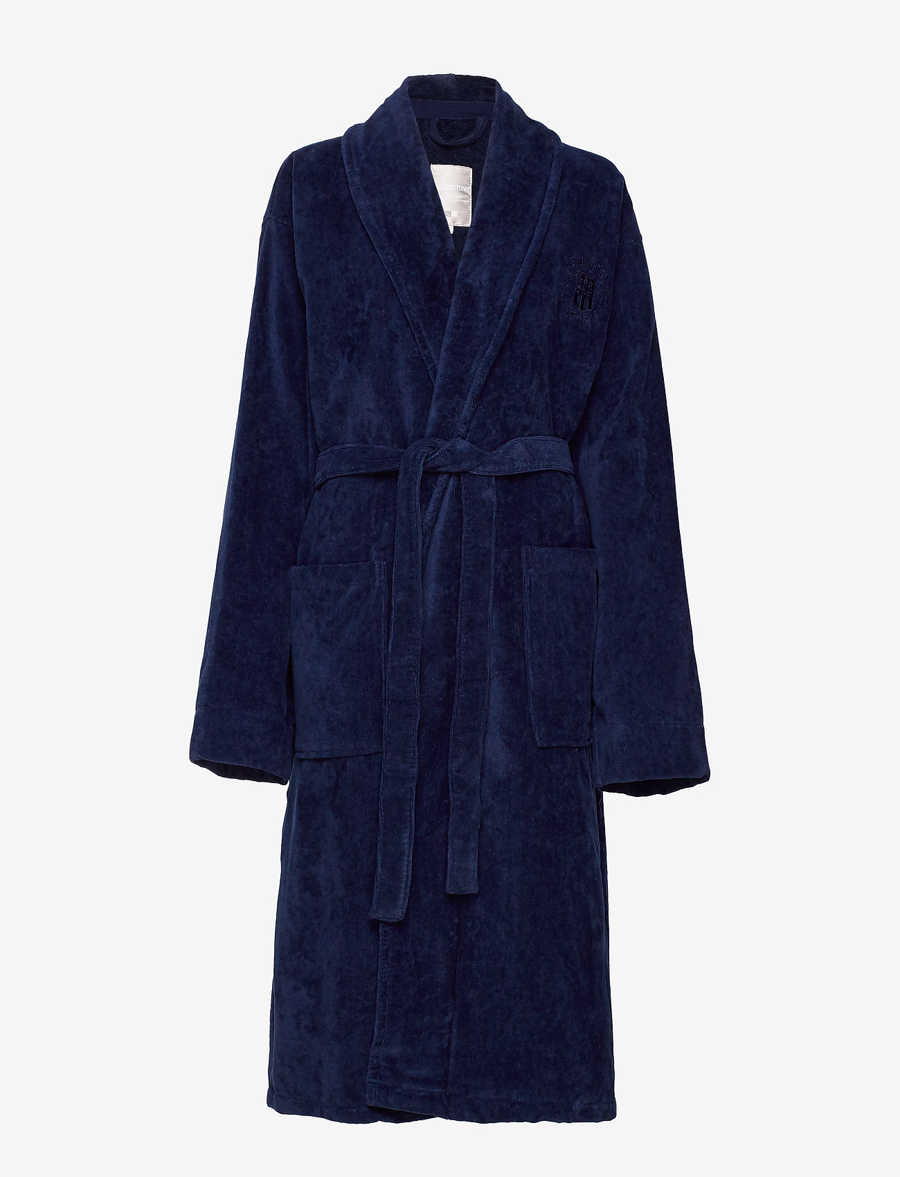 Lexington Home - Hotel Velour Robe - pegnoirs - dress blue - 0