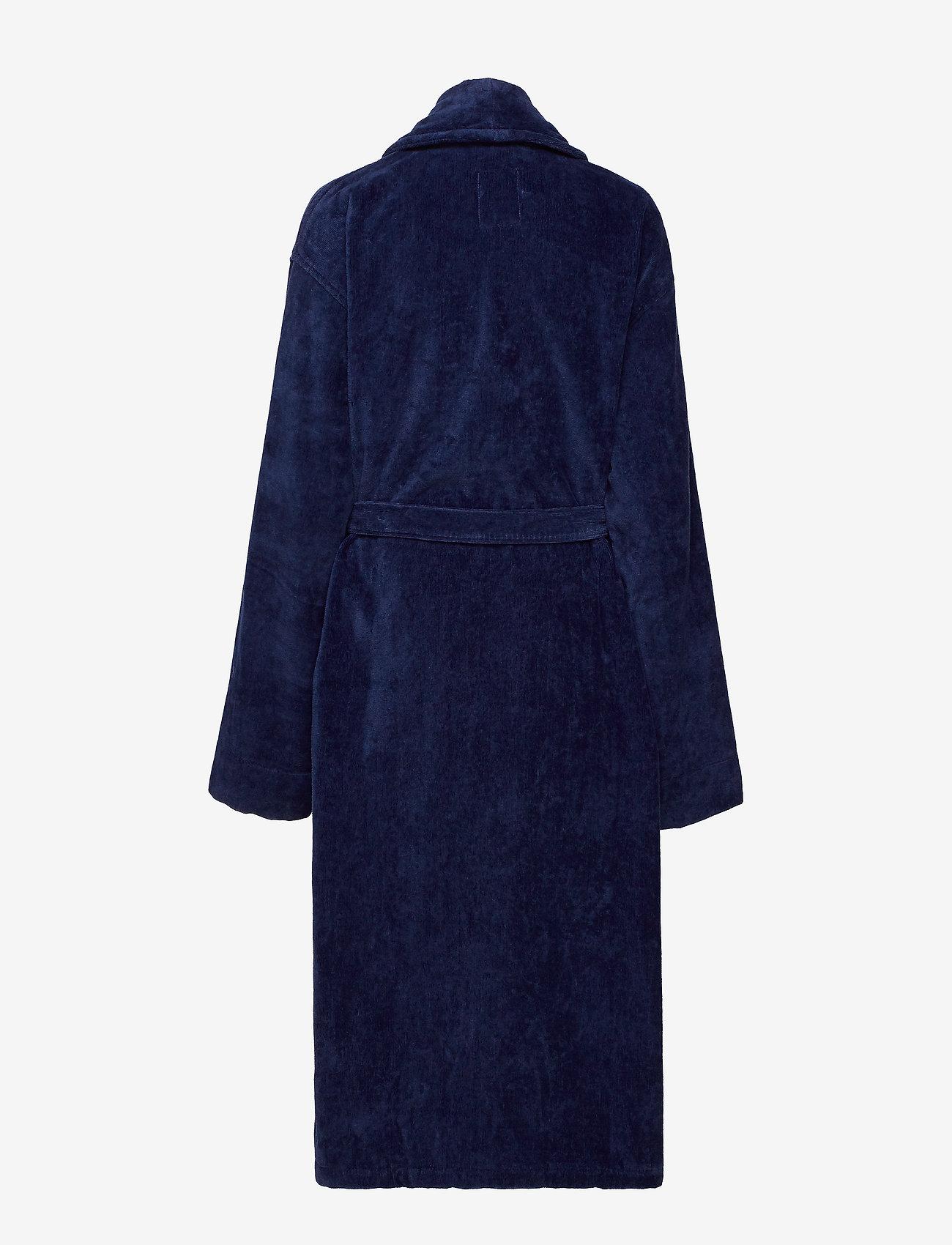 Lexington Home - Hotel Velour Robe - aamutakit - dress blue - 1