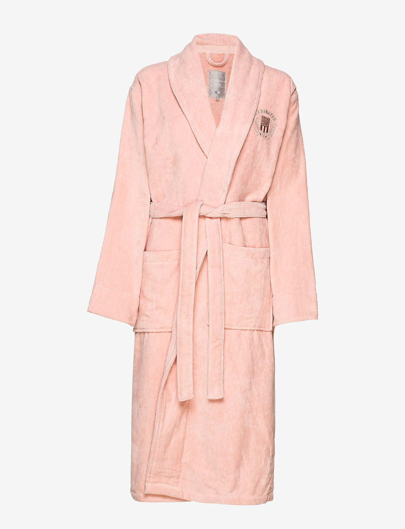 Lexington Home - Hotel Velour Robe - aamutakit - pink - 0