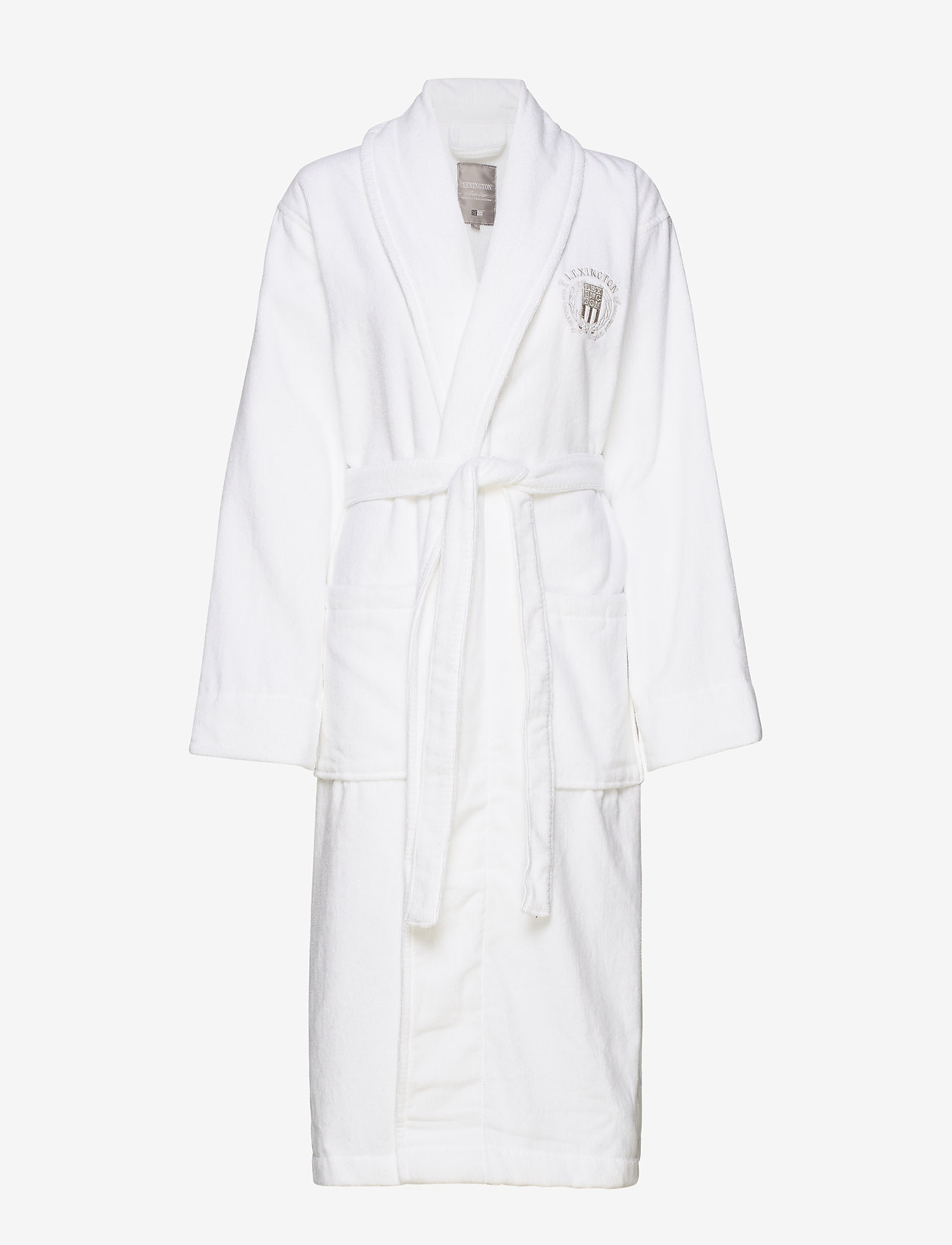 Lexington Home - Hotel Velour Robe - aamutakit - white - 0