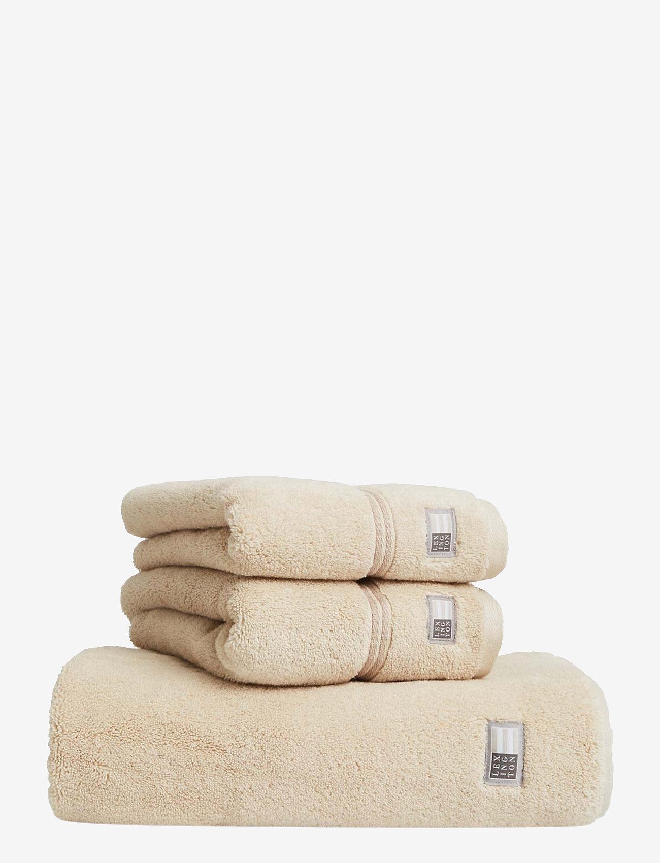 Lexington Home - Lexington Hotel Towel Beige/Beige - hand towels & bath towels - beige/beige - 0
