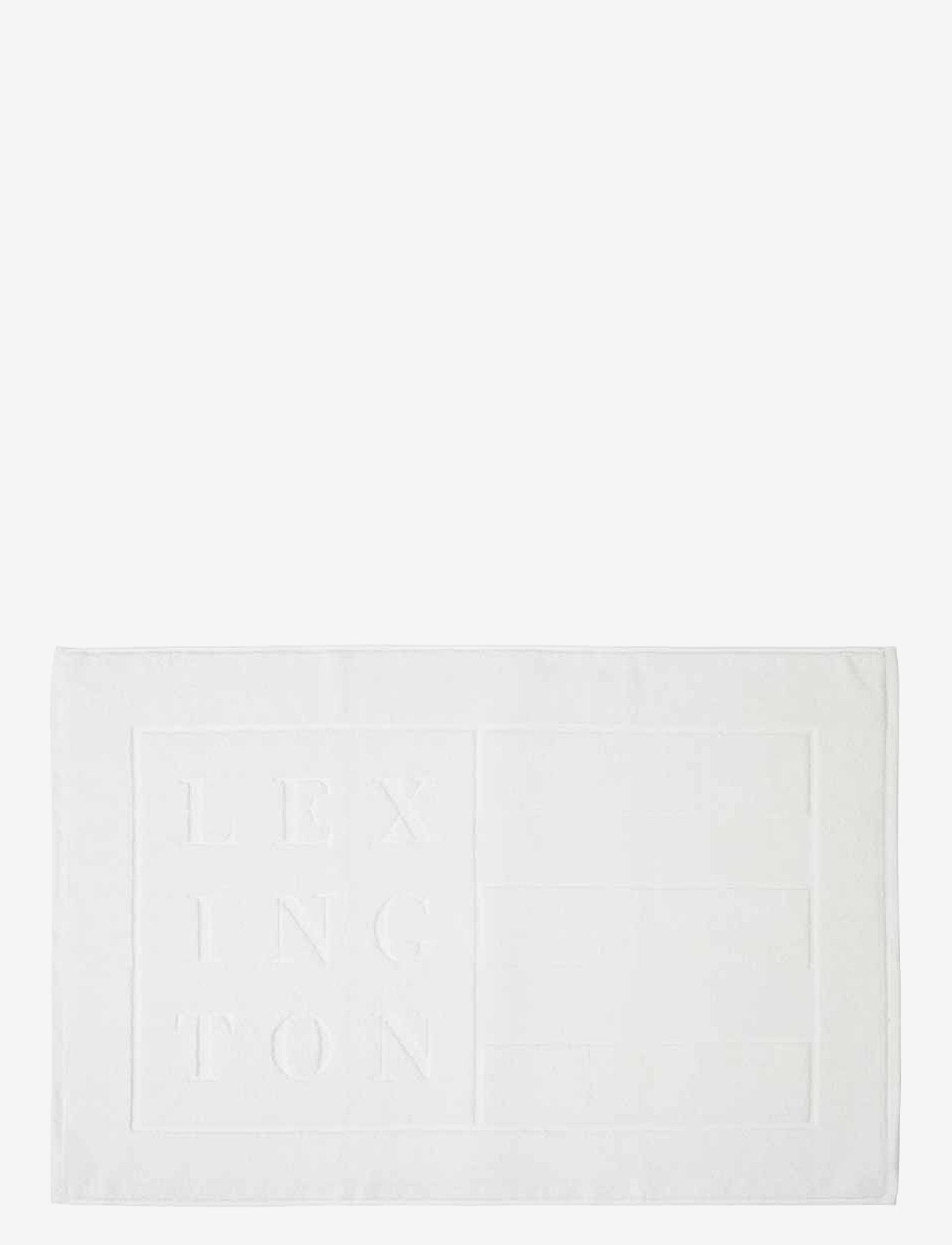 Lexington Home - Lexington Hotel Bathrug - dywaniki łazienkowe - white - 0