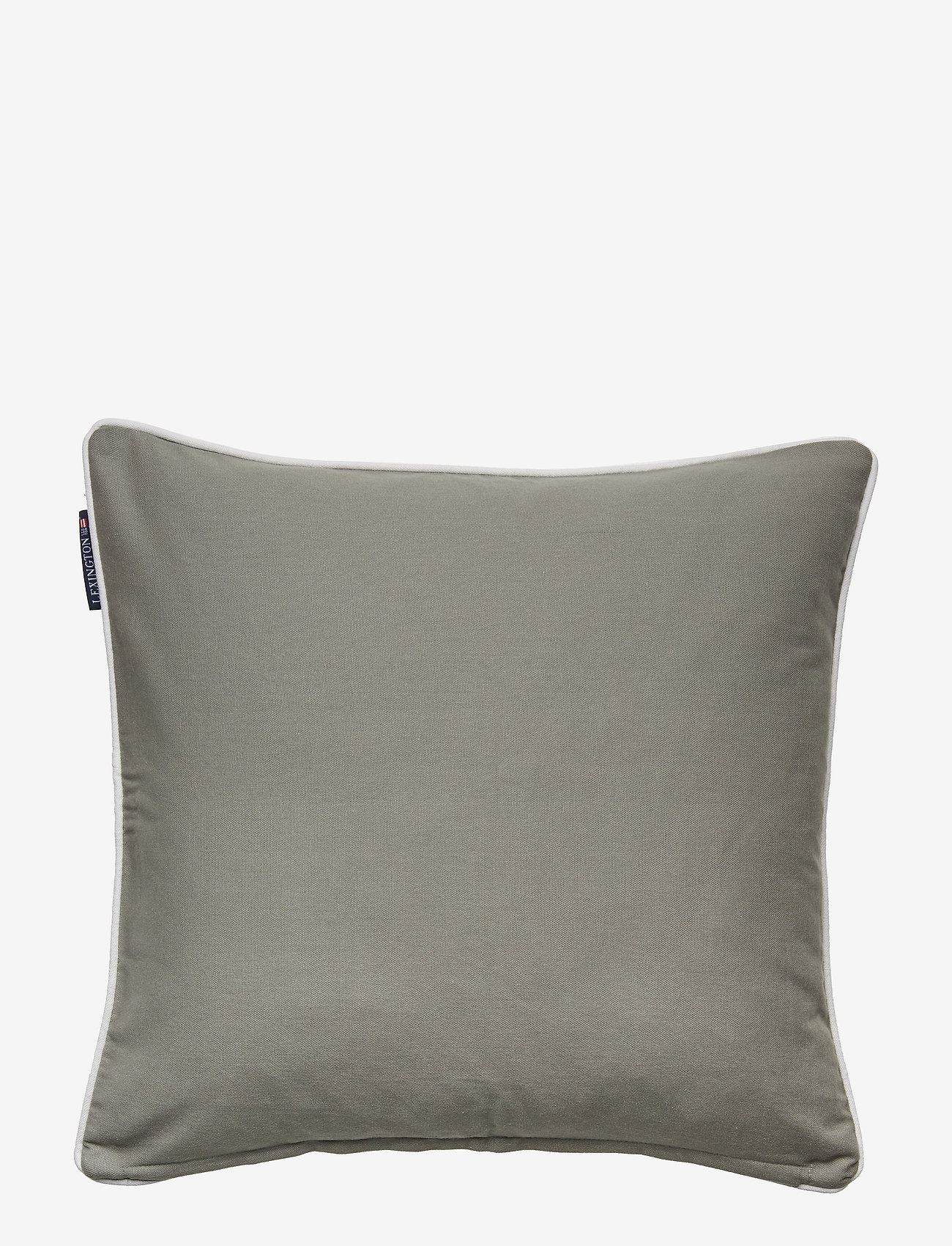 Lexington Home - Embroidery Striped Sham - tyynyliinat - green/white - 1