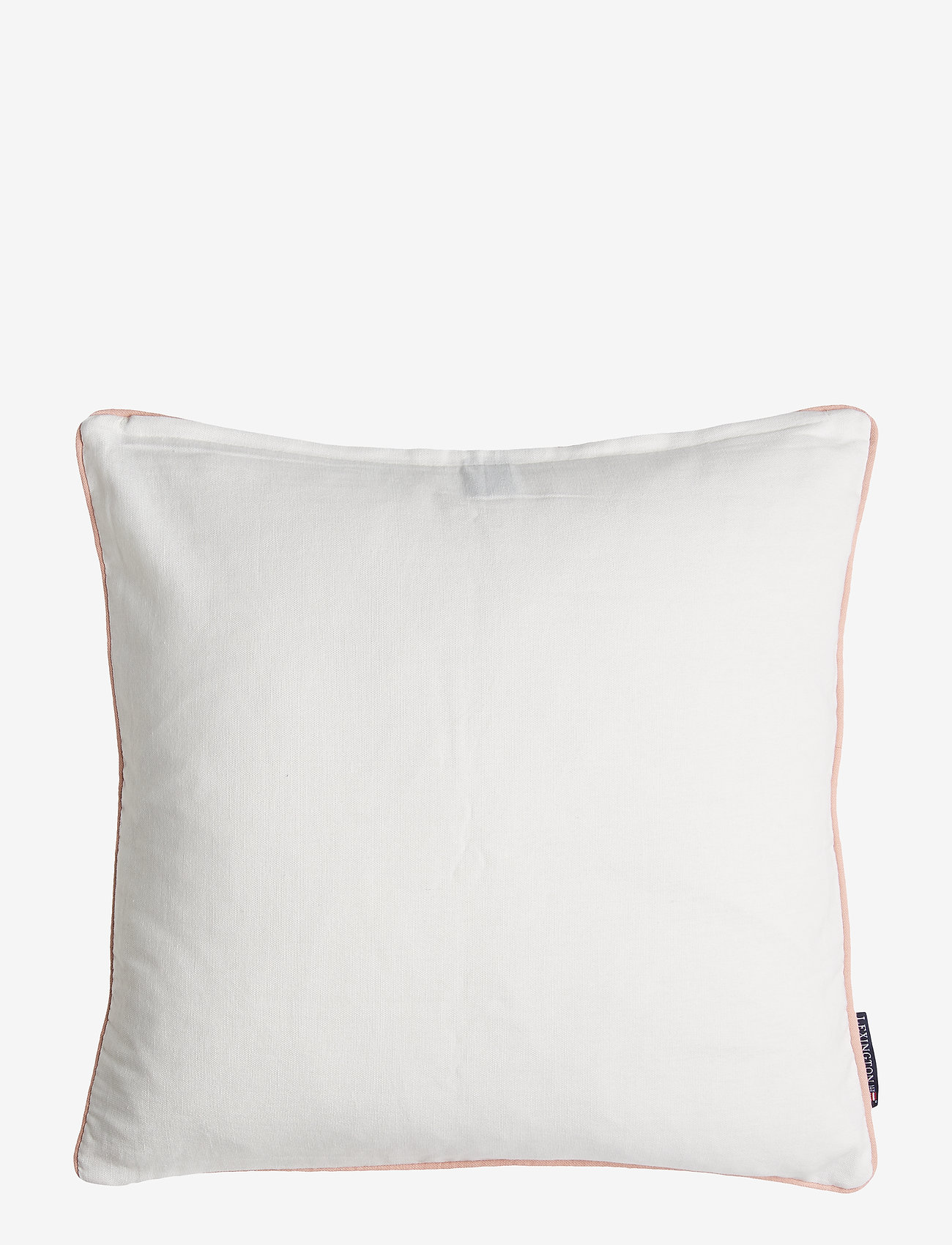 Lexington Home - Embroidery Striped Sham - tyynyliinat - pink/white - 1