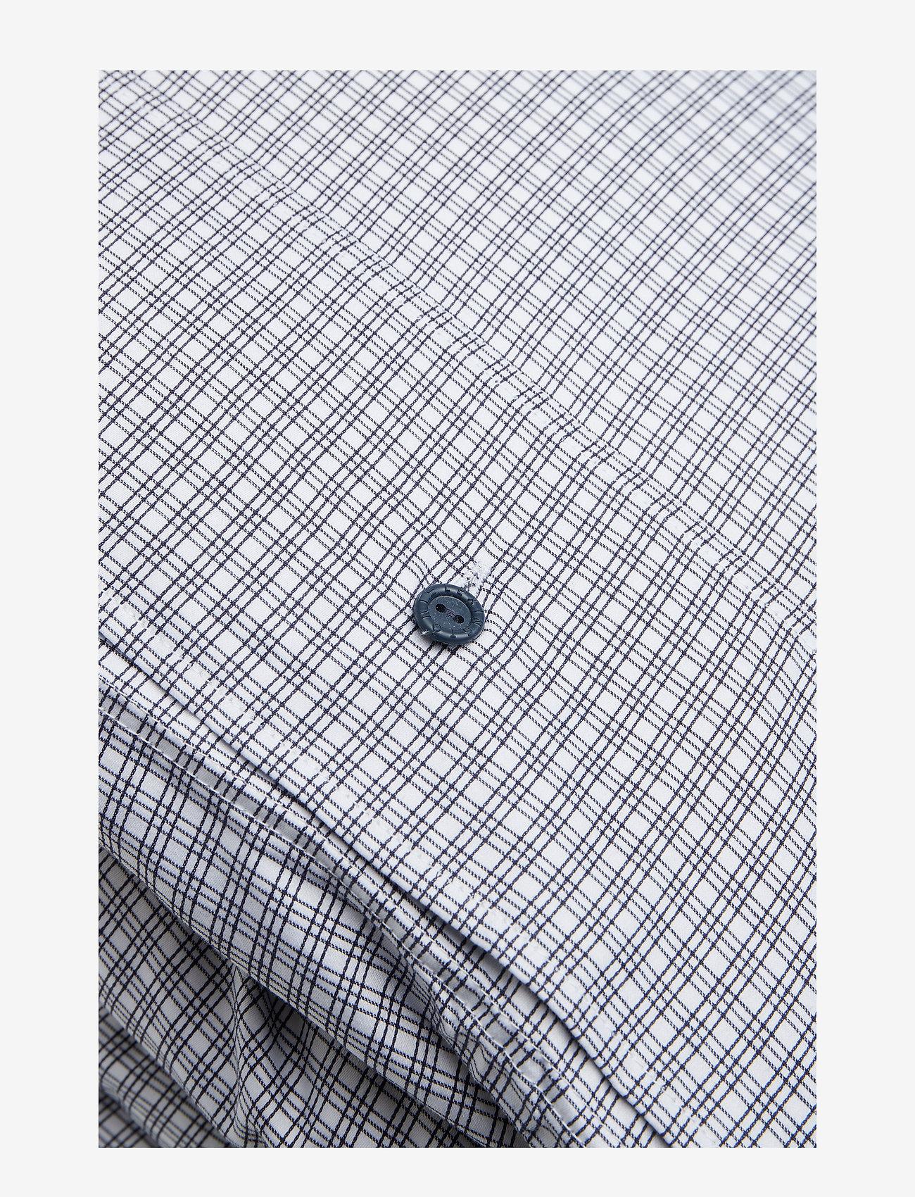 Lexington Home Tattersall Tencel Duvet - Sovrum White/blue Check