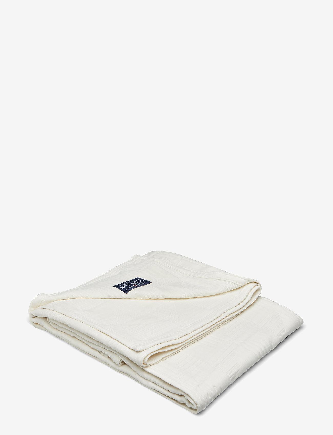 Lexington Home - Jacquard Cotton Bedspread - päiväpeitto - creme - 0