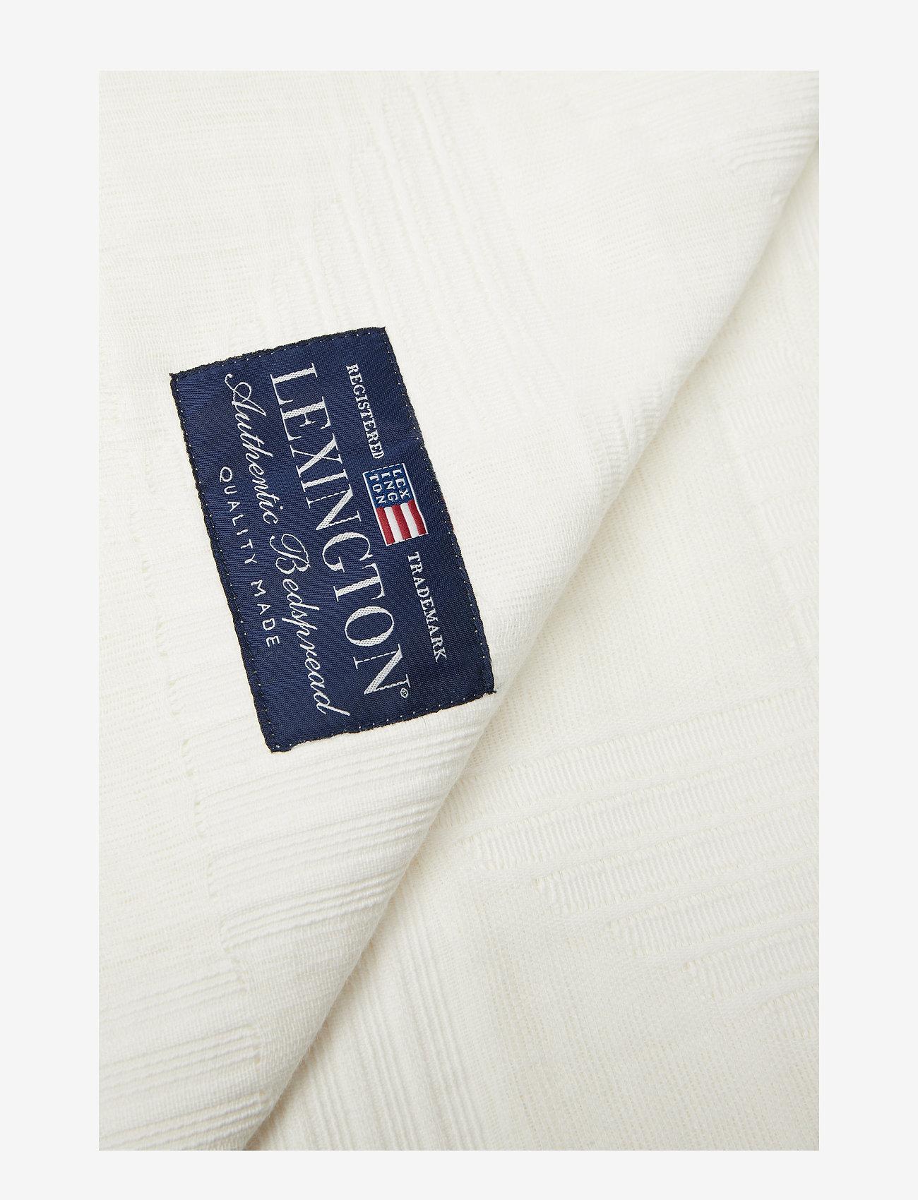 Lexington Home - Jacquard Cotton Bedspread - päiväpeitto - creme - 1