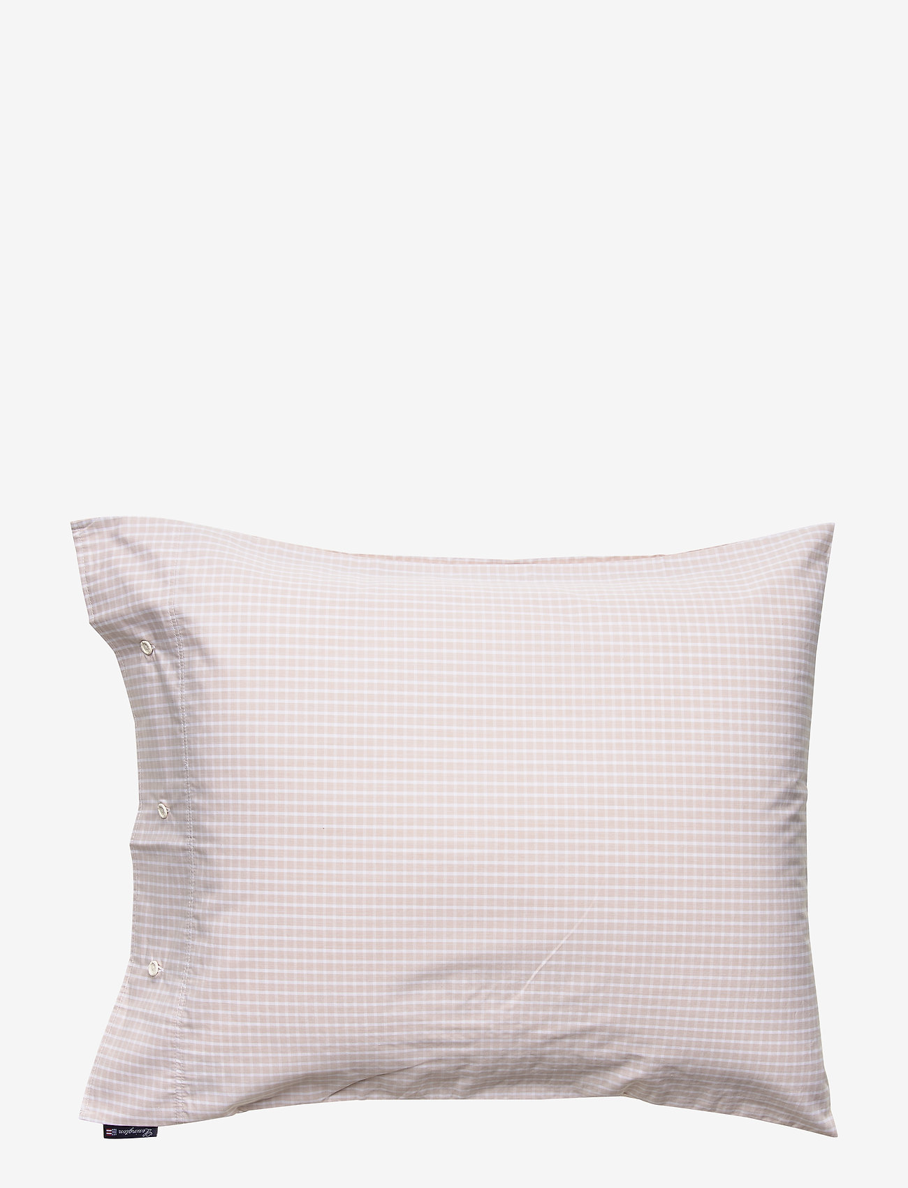 Lexington Home - Beige Checked Tencel Pillowcase - pillowcases - white/beige - 0