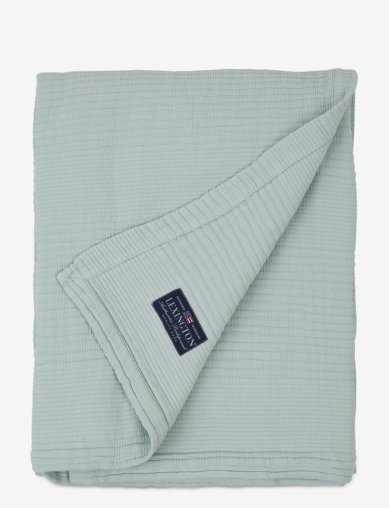 Lexington Home - Quilt Cotton Bedspread - sprei - aqua - 0