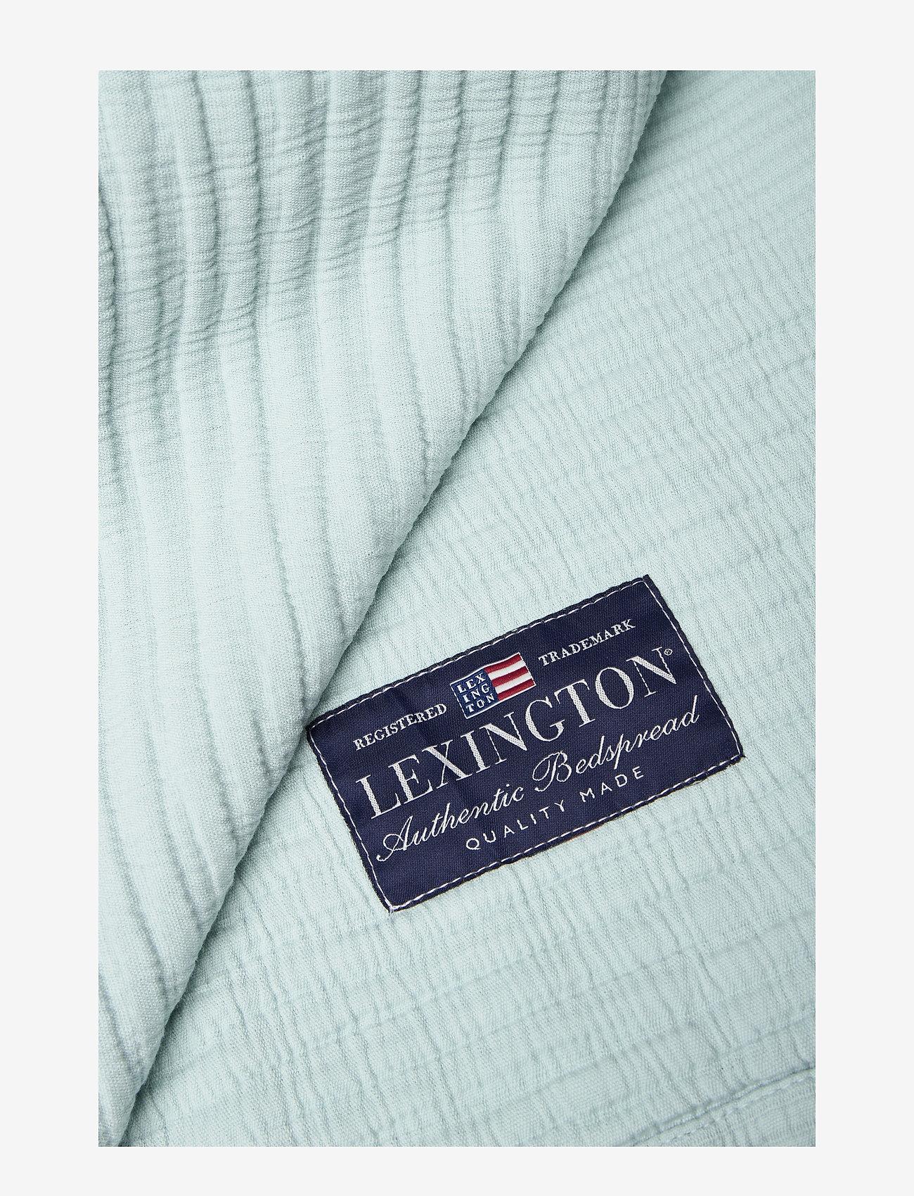 Lexington Home - Quilt Cotton Bedspread - sprei - aqua - 1