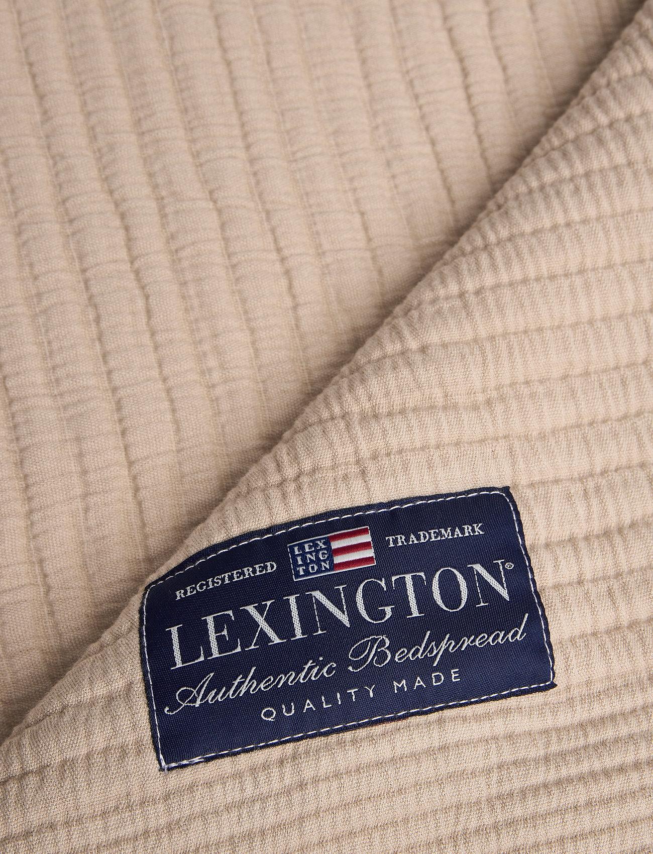 Lexington Home - Quilt Cotton Bedspread - päiväpeitot - beige - 1
