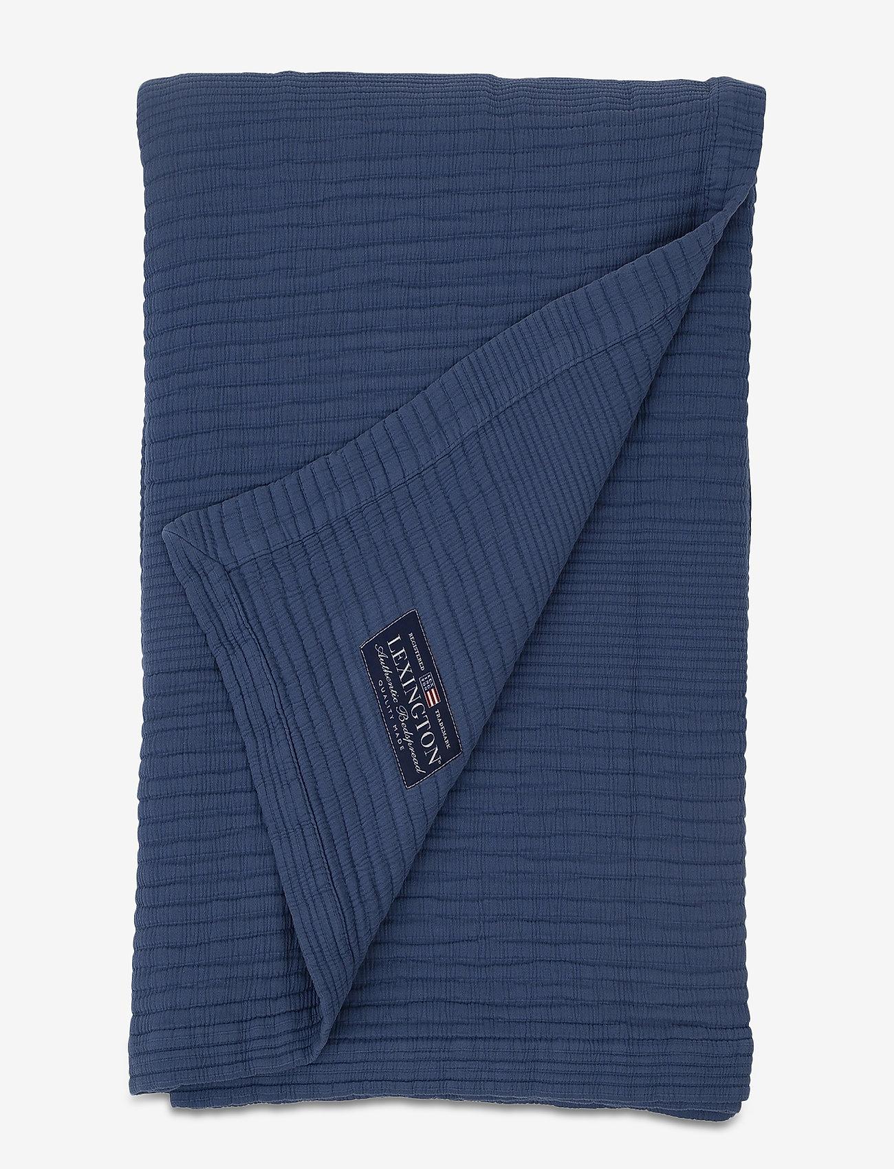 Lexington Home - Quilt Cotton Bedspread - sprei - blue - 0