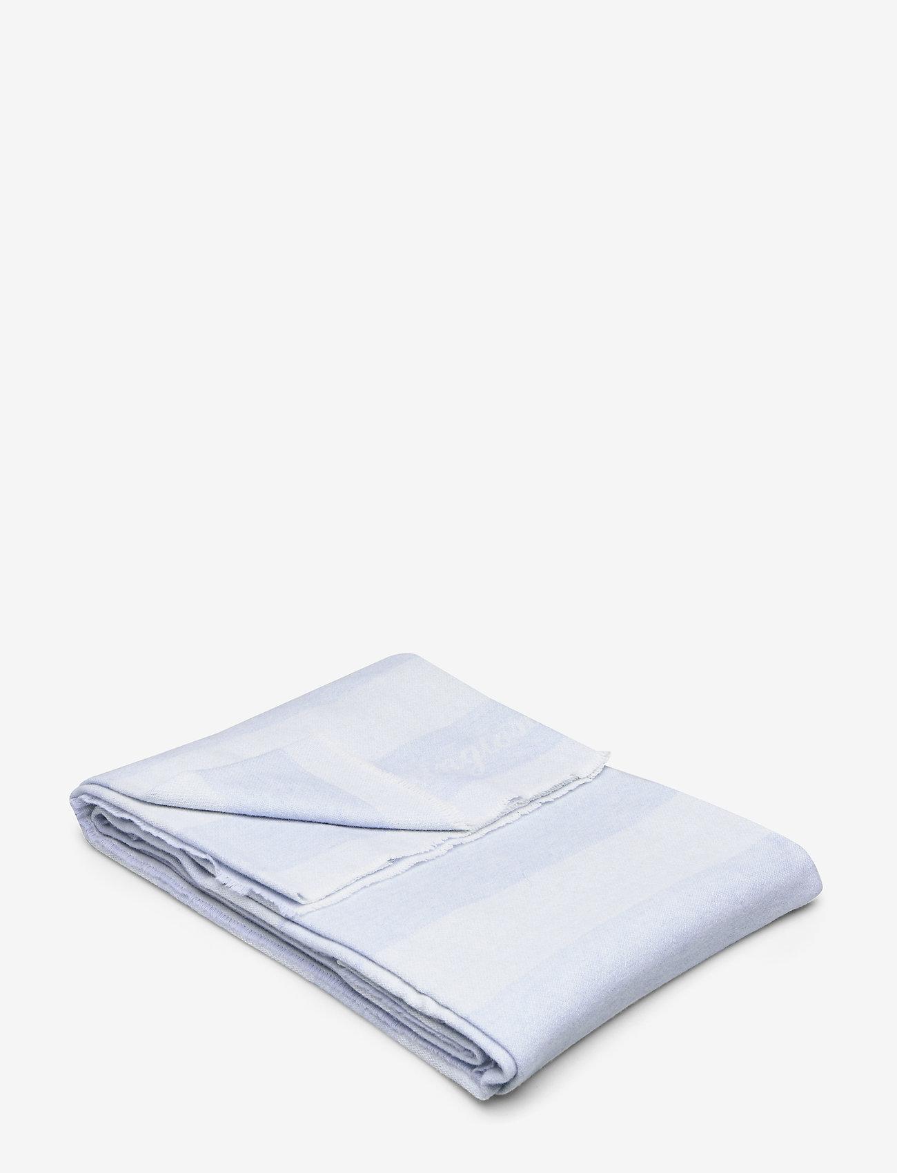 Lexington Home - Wool Flag Throw - blankets - lt blue - 0