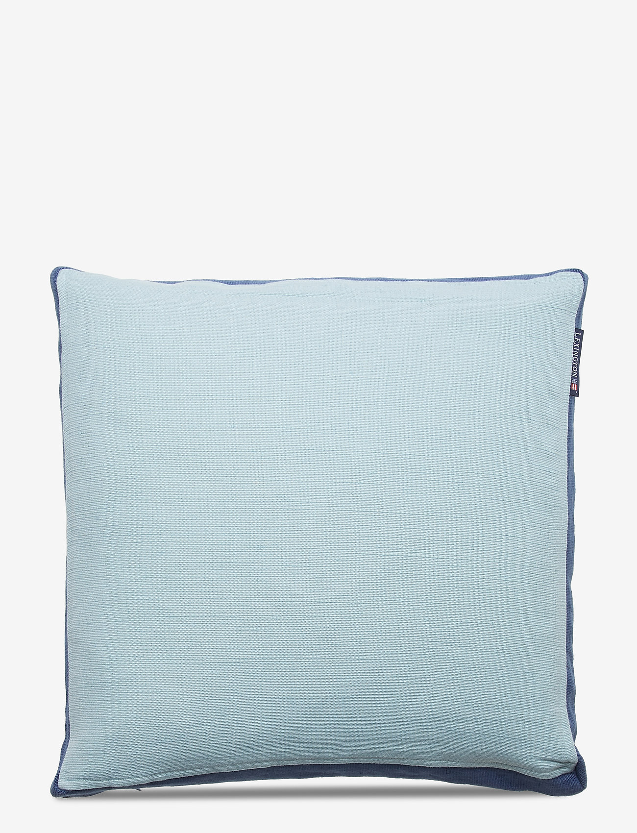 Lexington Home - Cotton Jute Sham - tyynyliinat - aqua - 0