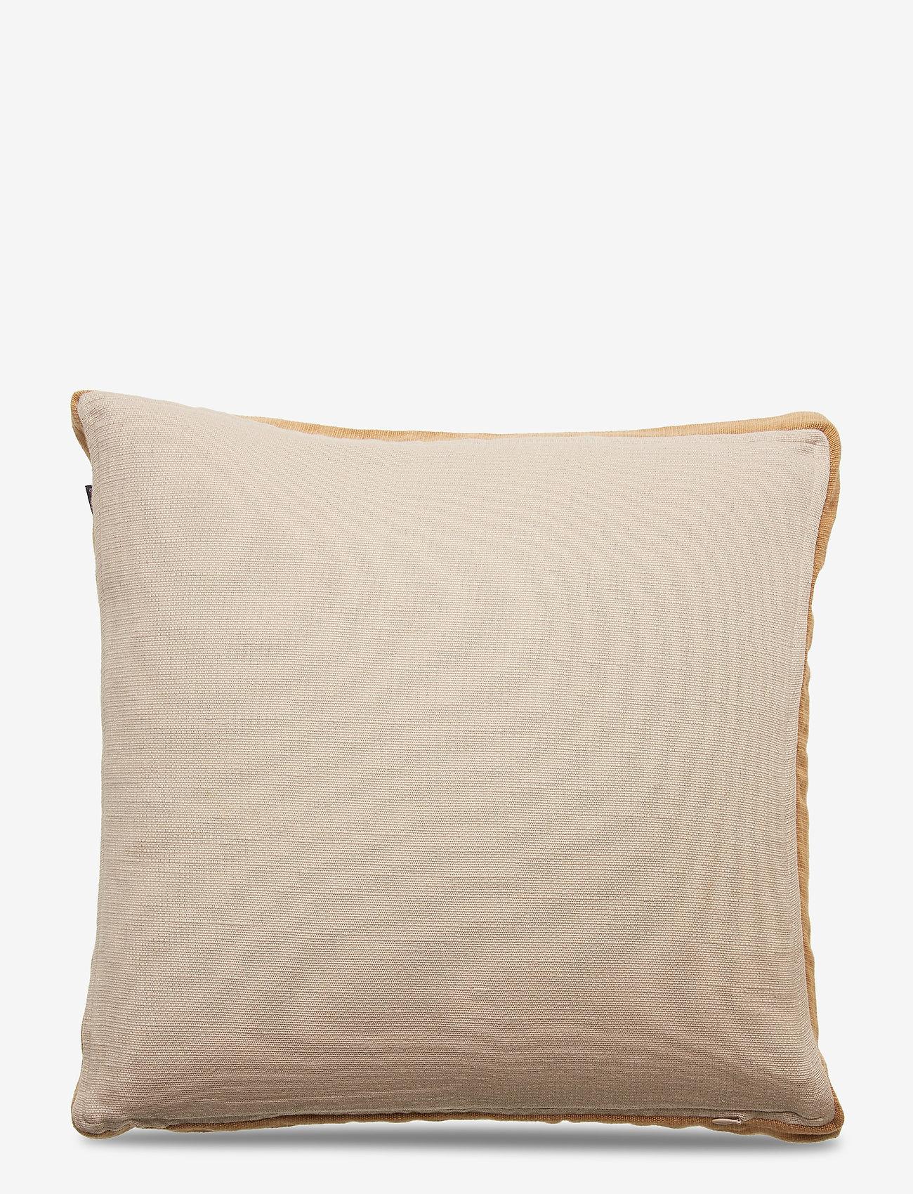 Lexington Home - Cotton Jute Sham - poszewki na poduszki ozdobne - beige - 1
