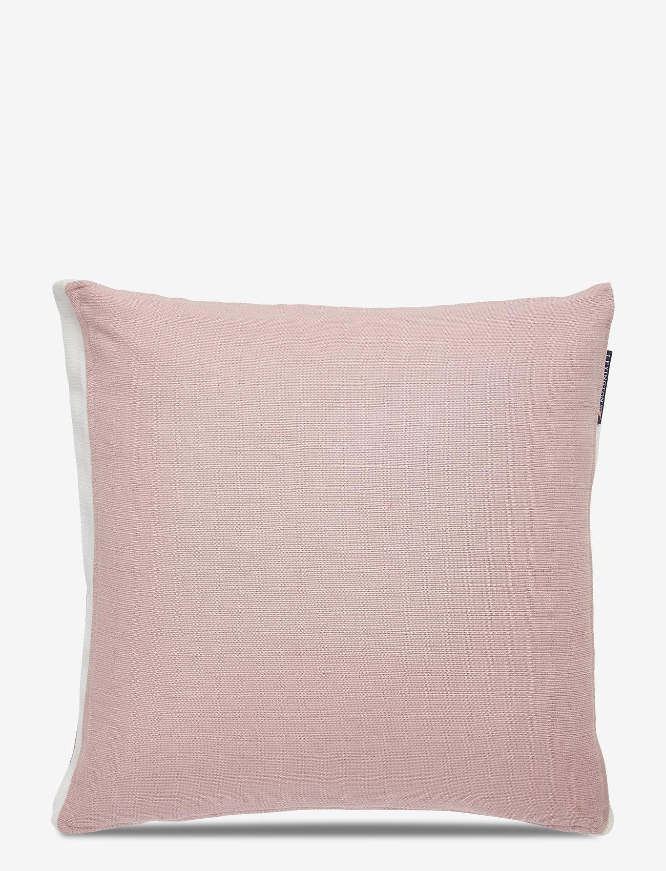 Lexington Home - Cotton Jute Sham - tyynyliinat - pink - 0