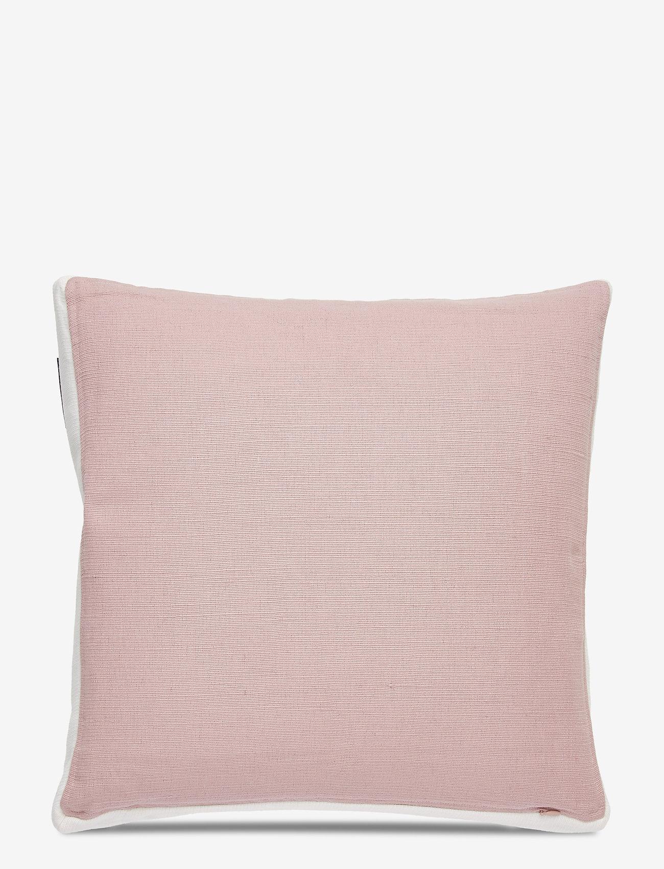 Lexington Home - Cotton Jute Sham - tyynyliinat - pink - 1