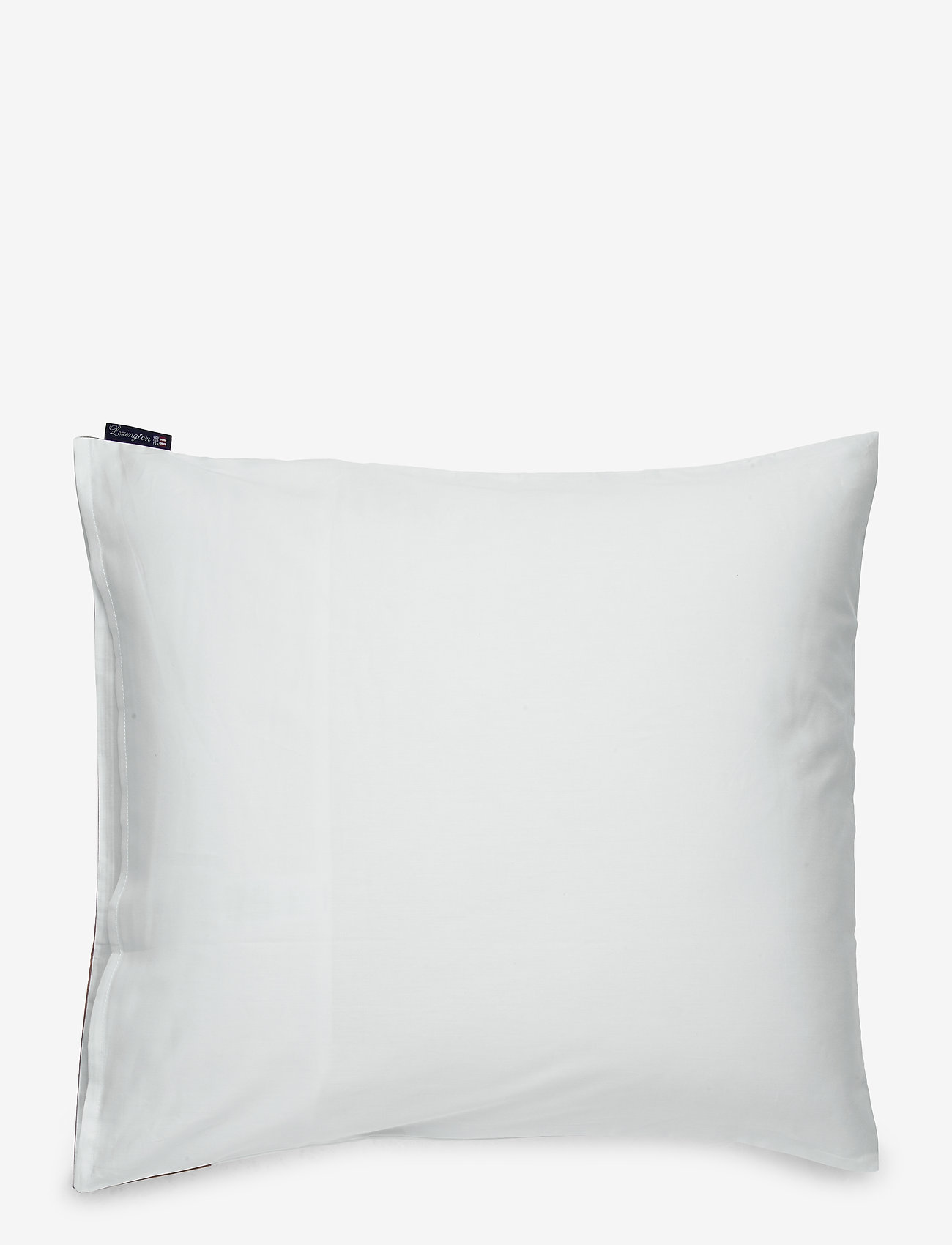 Lexington Home - White/Dk Beige Contrast Cotton Sateen Pillowcase - tyynyliinat - white/dk beige - 1